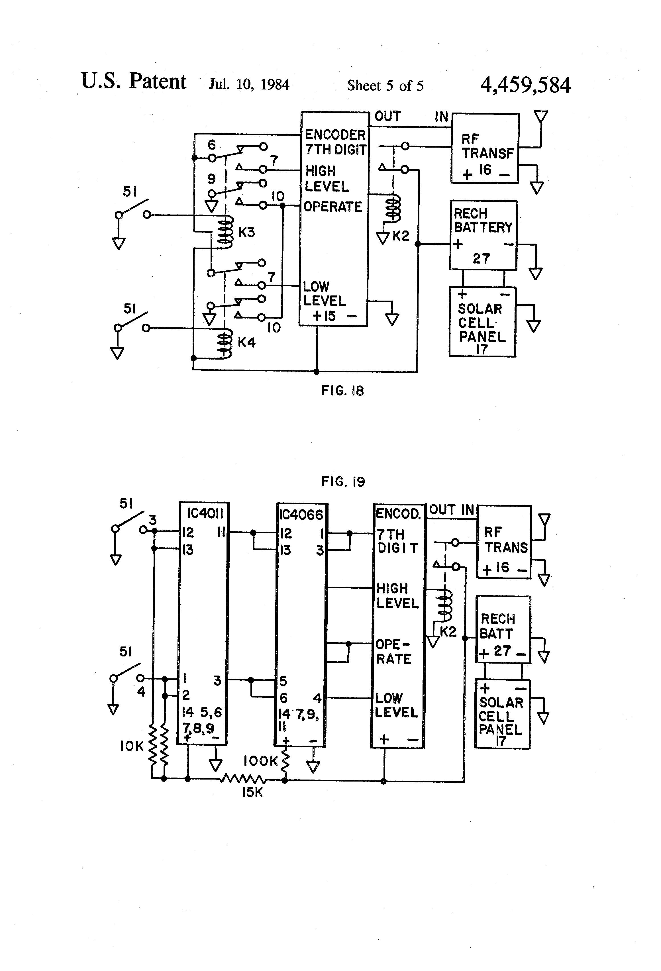 patent us automatic liquid level indicator and alarm patent drawing