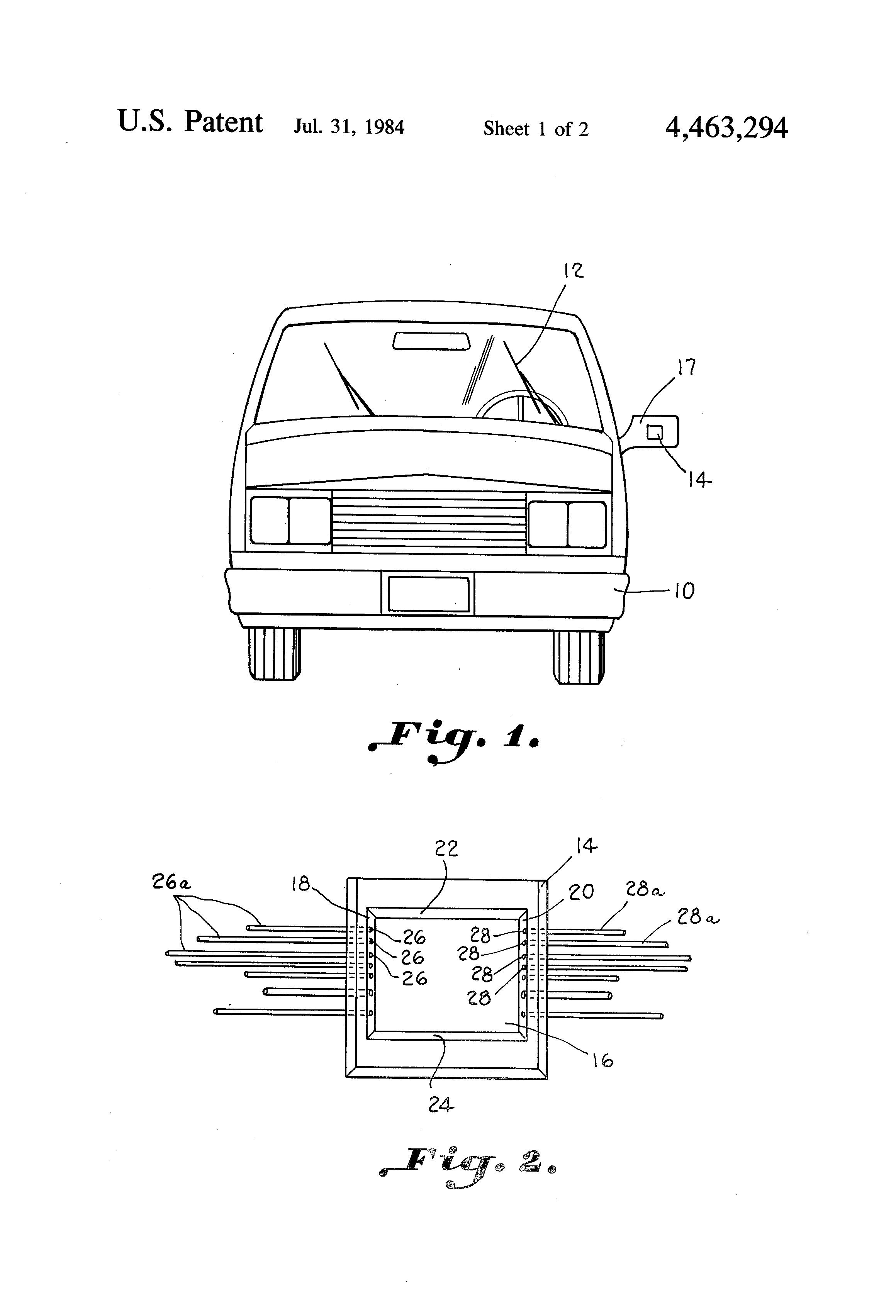 Patent Us4463294 Windshield Wiper Control Apparatus Google Patents Rain Sensing System Using 555 Timer Electronics Circuits Drawing