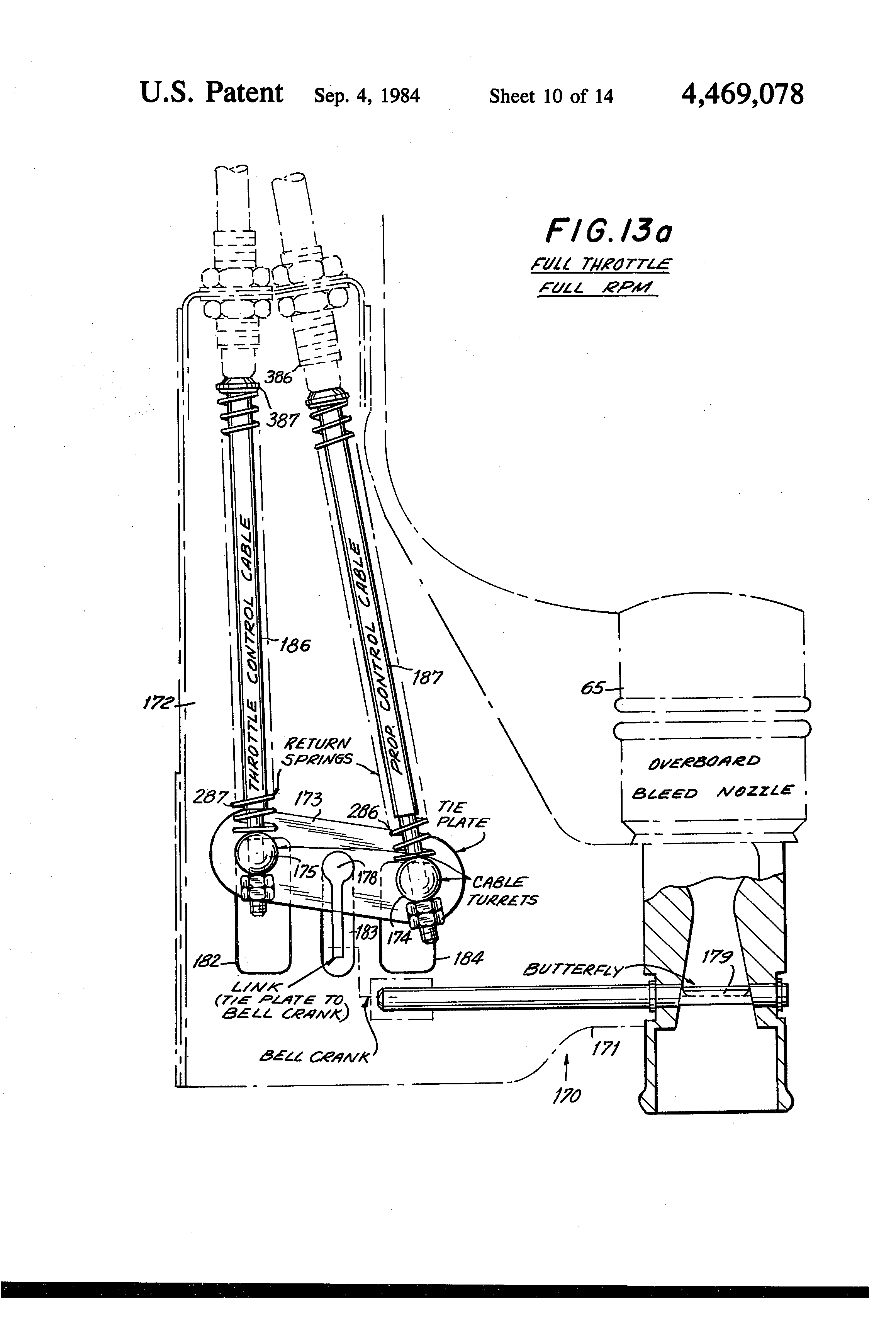 Patent US4469078 Aircraft engineturbocharger package with bleed – Lycoming Aircraft Engine Diagram