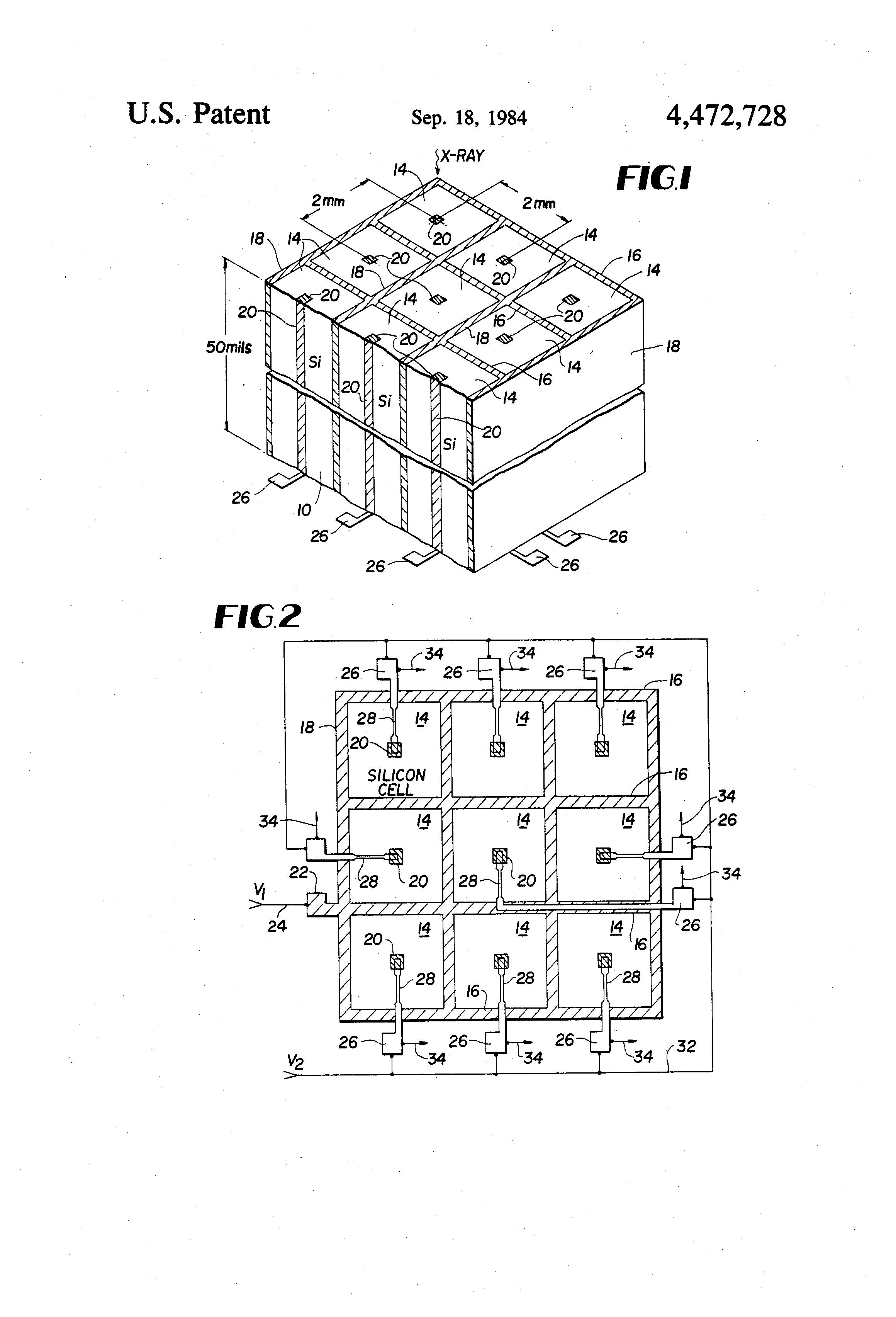 patent us4472728 - imaging x-ray spectrometer
