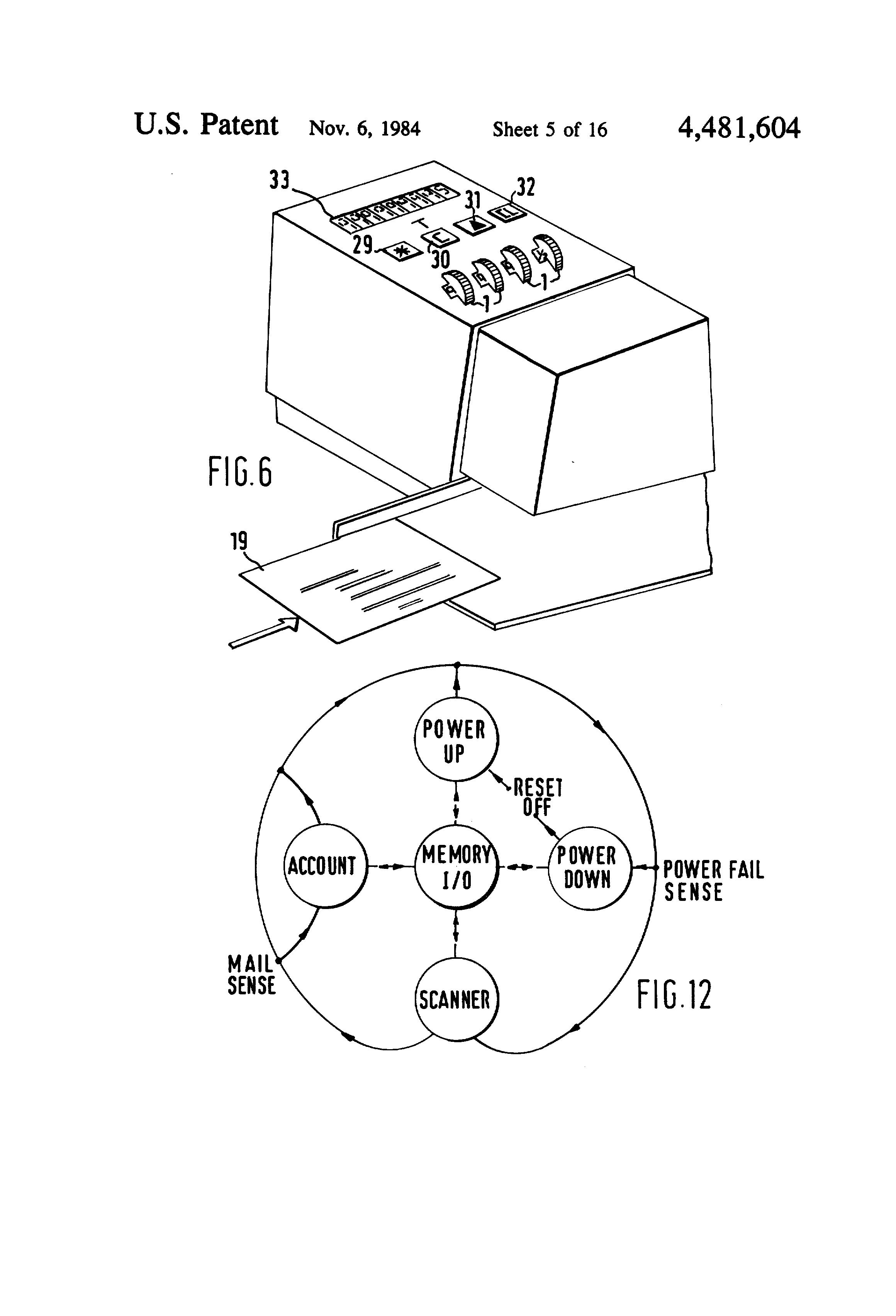 patent us4481604