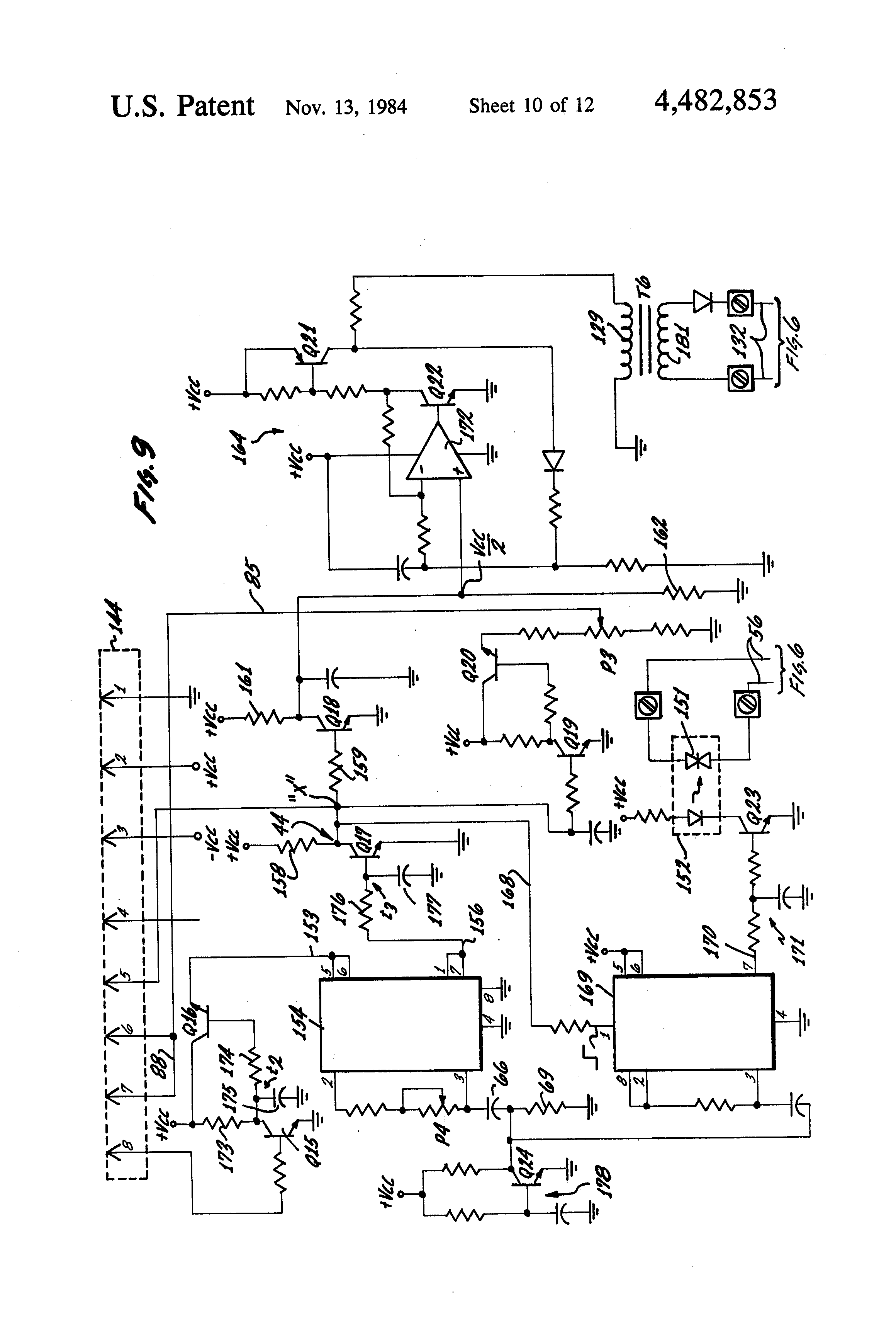 Patent us4482853 composite control for soft start and for Soft start 3 phase motor
