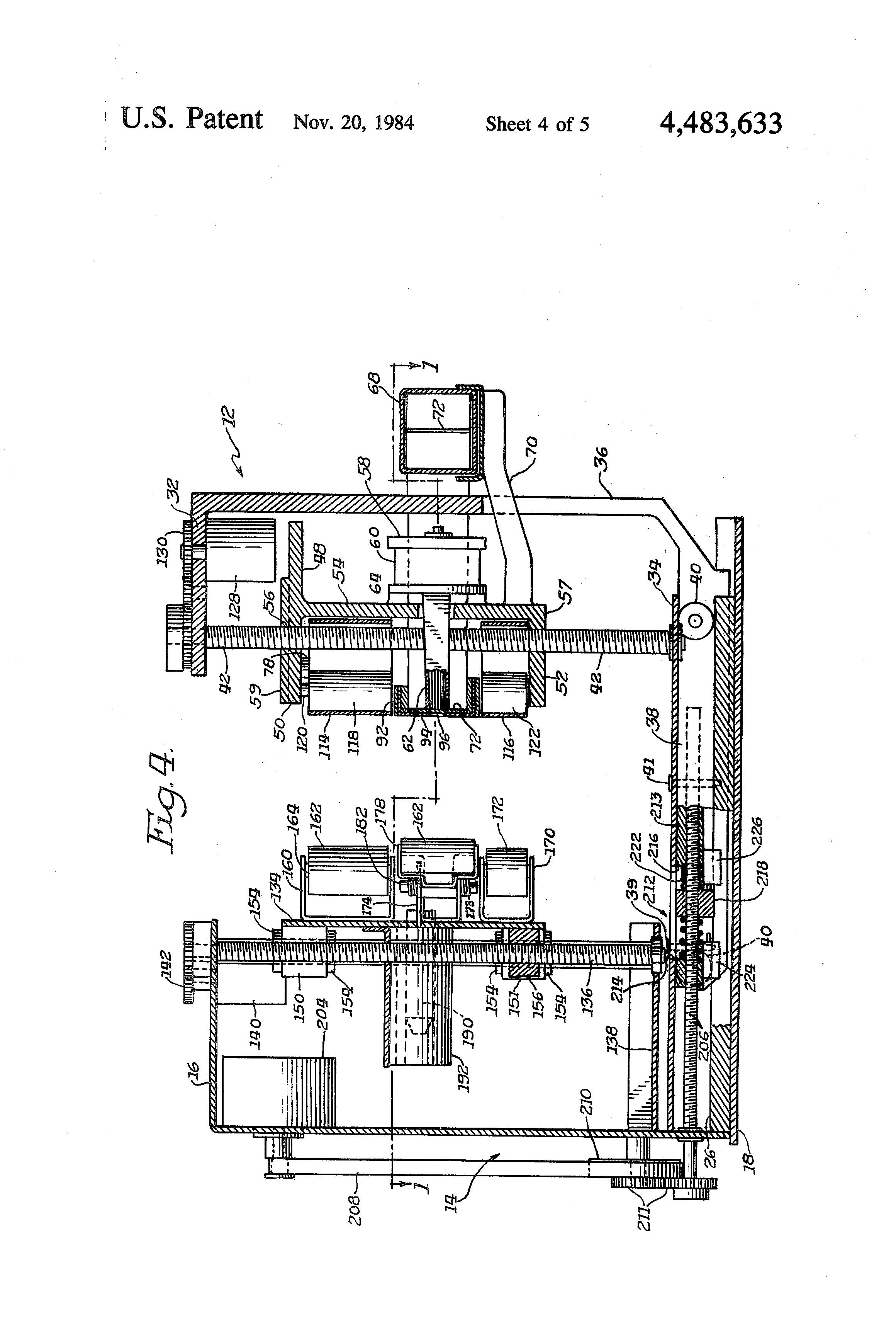 Patent Us4483633 Matrix Print Head Printer Google Patents Vem Motor Wiring Diagram Drawing