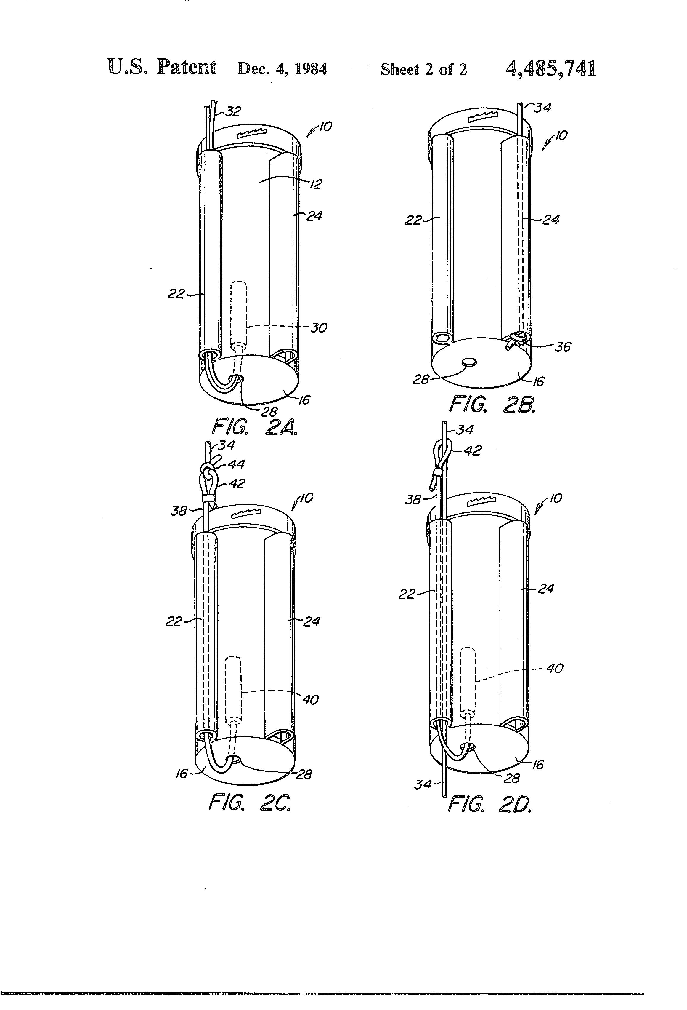 patent us4485741