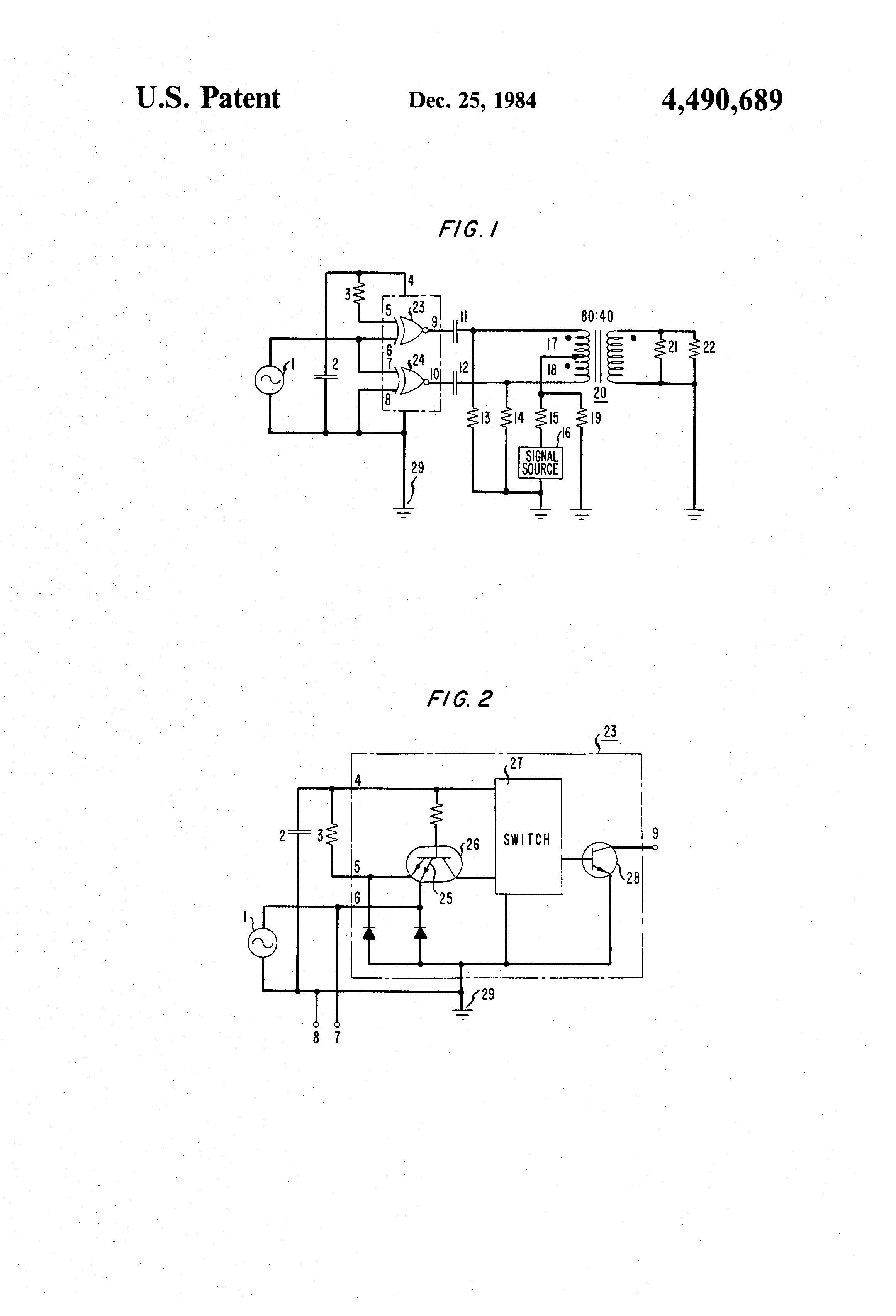 Patent US4490689 - Balanced modulator using logic gates for DSBSC ...