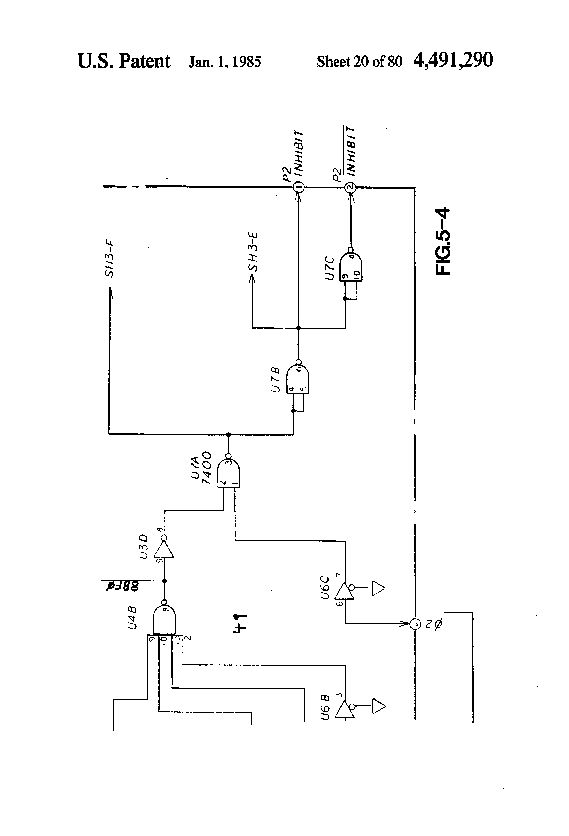 Patent Us4491290 Train Defect Detecting And Enunciating System Circuit Schematics Electronic Telephone Ringer Drawing