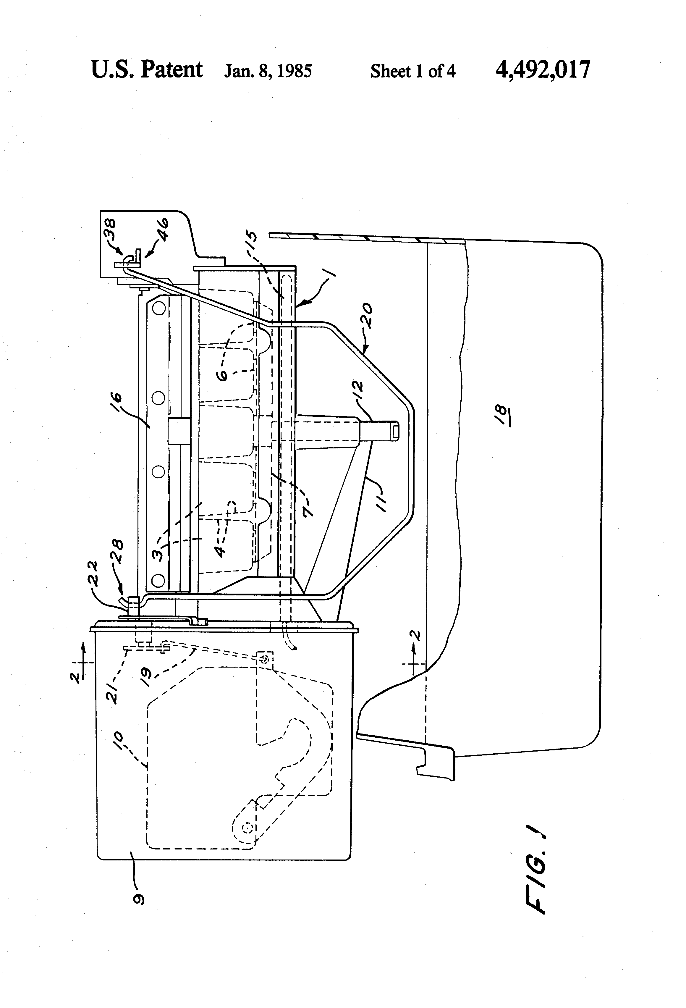 Patent Us4492017 Method Of Assembling A Rigid Wire For Driven Wiring Diagram Drawing