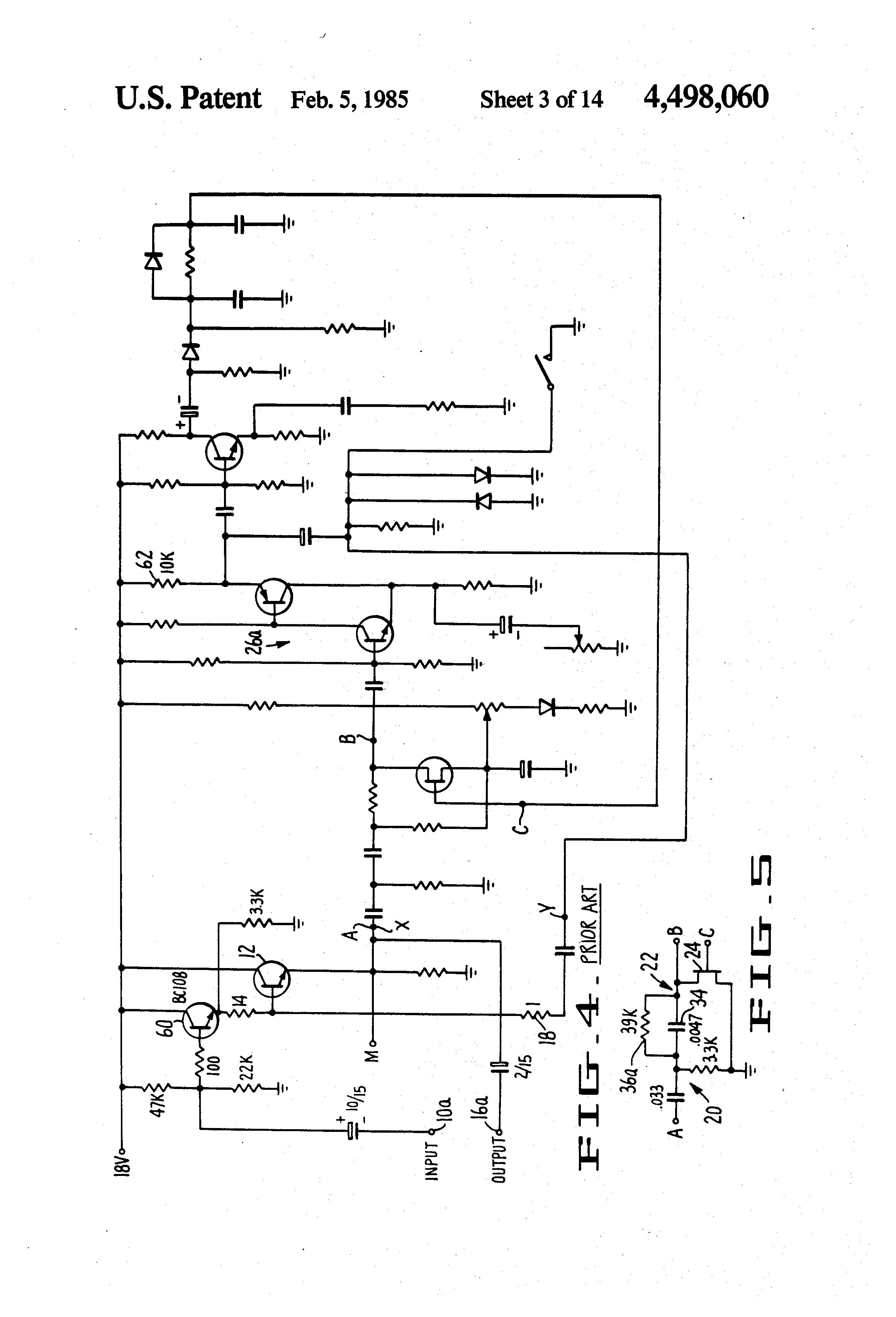 Brevet Us4498060 Circuit Arrangements For Modifying Dynamic Range Computer Integrated Diagram Filtercircuit Basiccircuit Patent Drawing