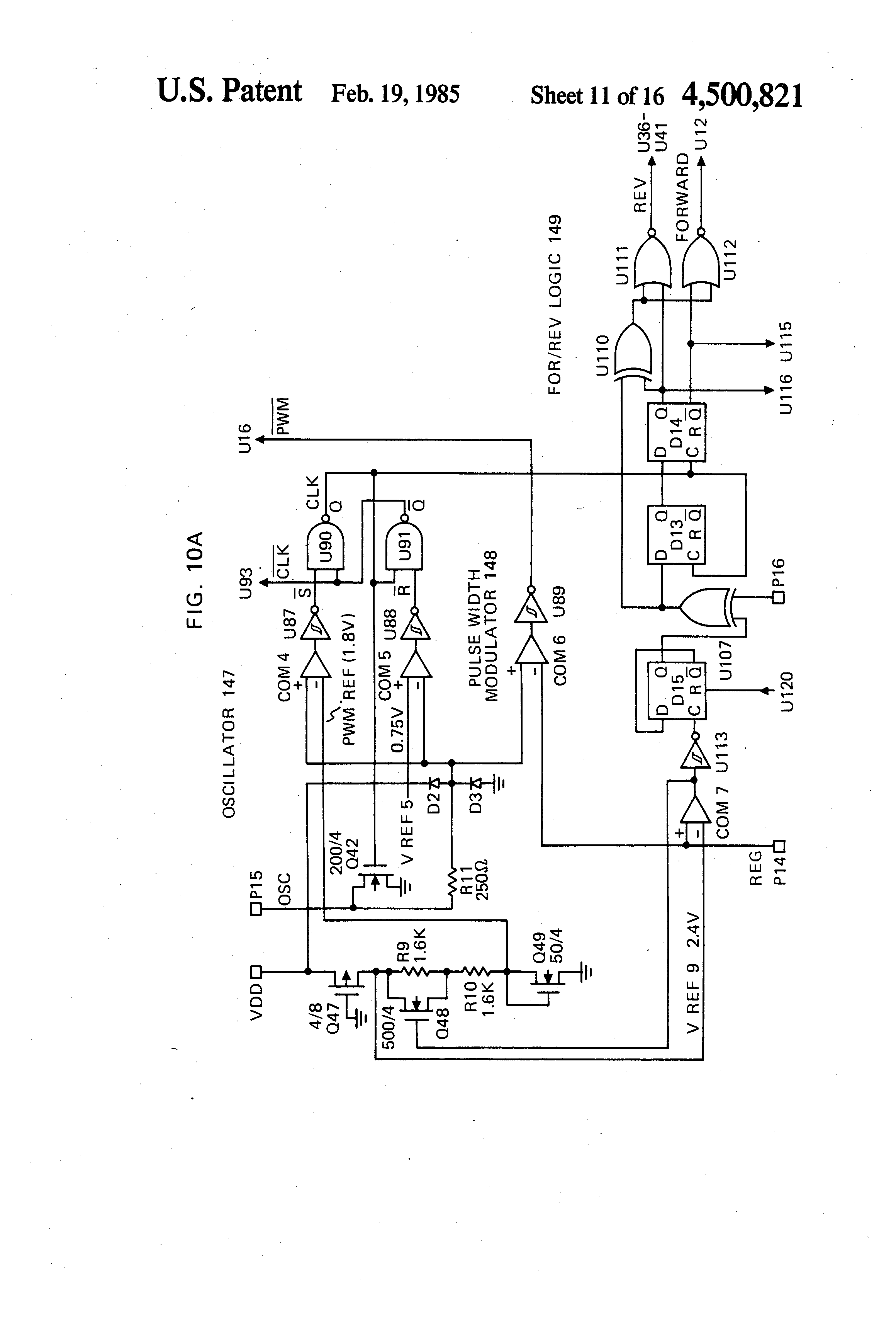 Patent us4500821 speed or torque control circuit for an for Electronically commutated motor ecm