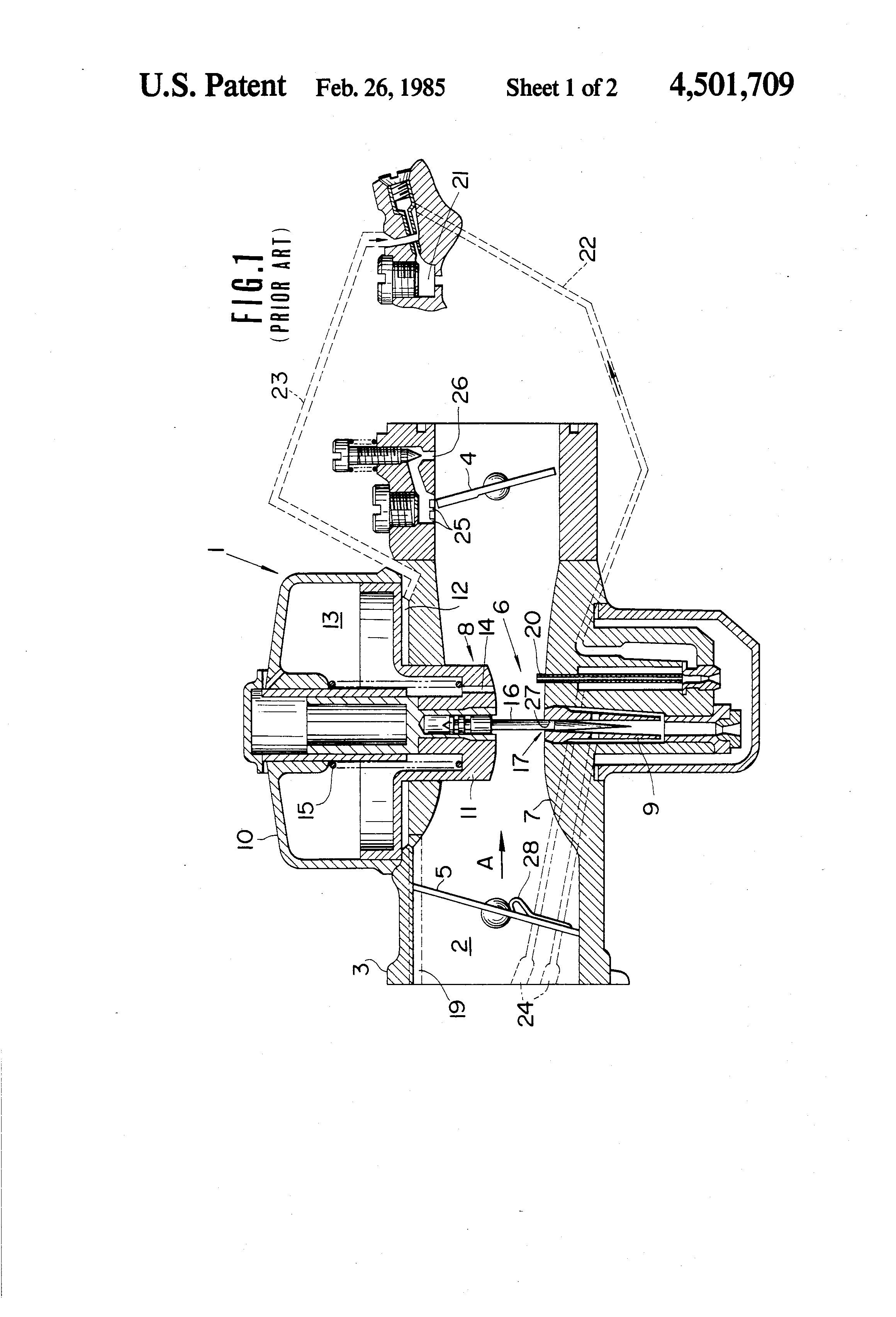 variable venturi carburetor diagram