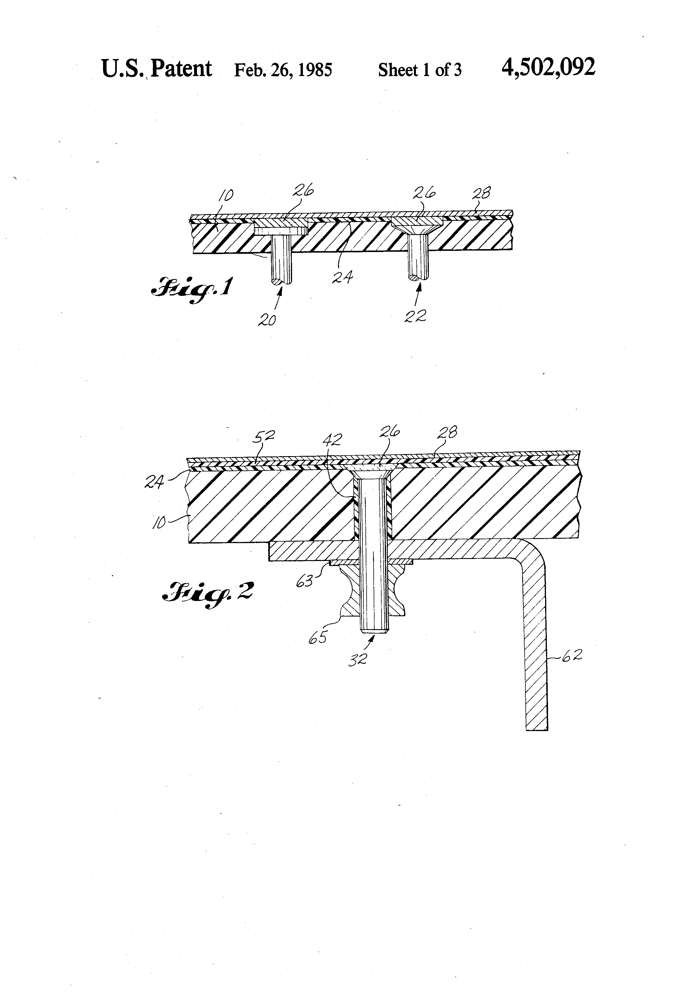 patente us4502092