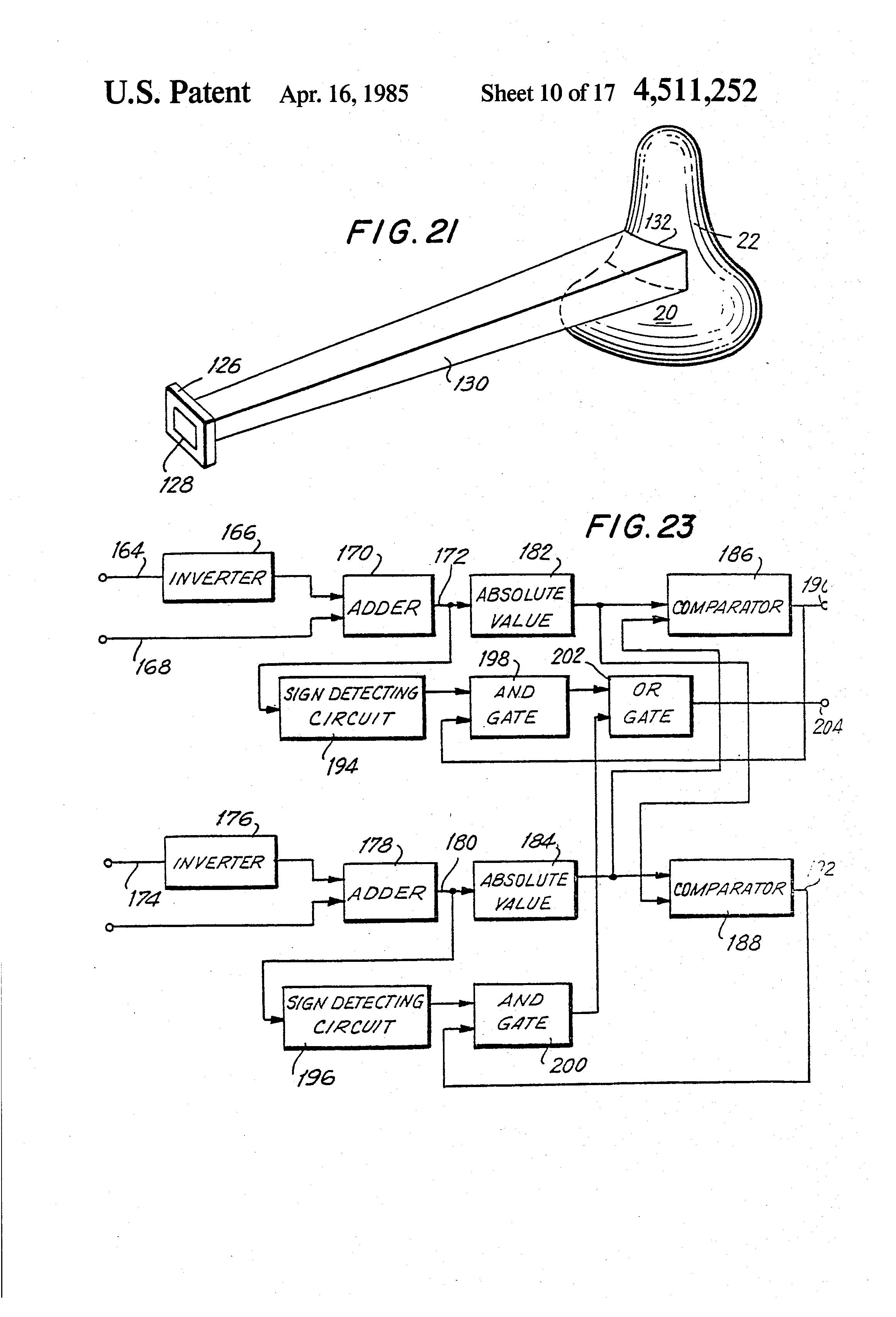 Patent Us4511252 Arrangement For Sensing The Geometric Kreidler Wiring Diagram Drawing