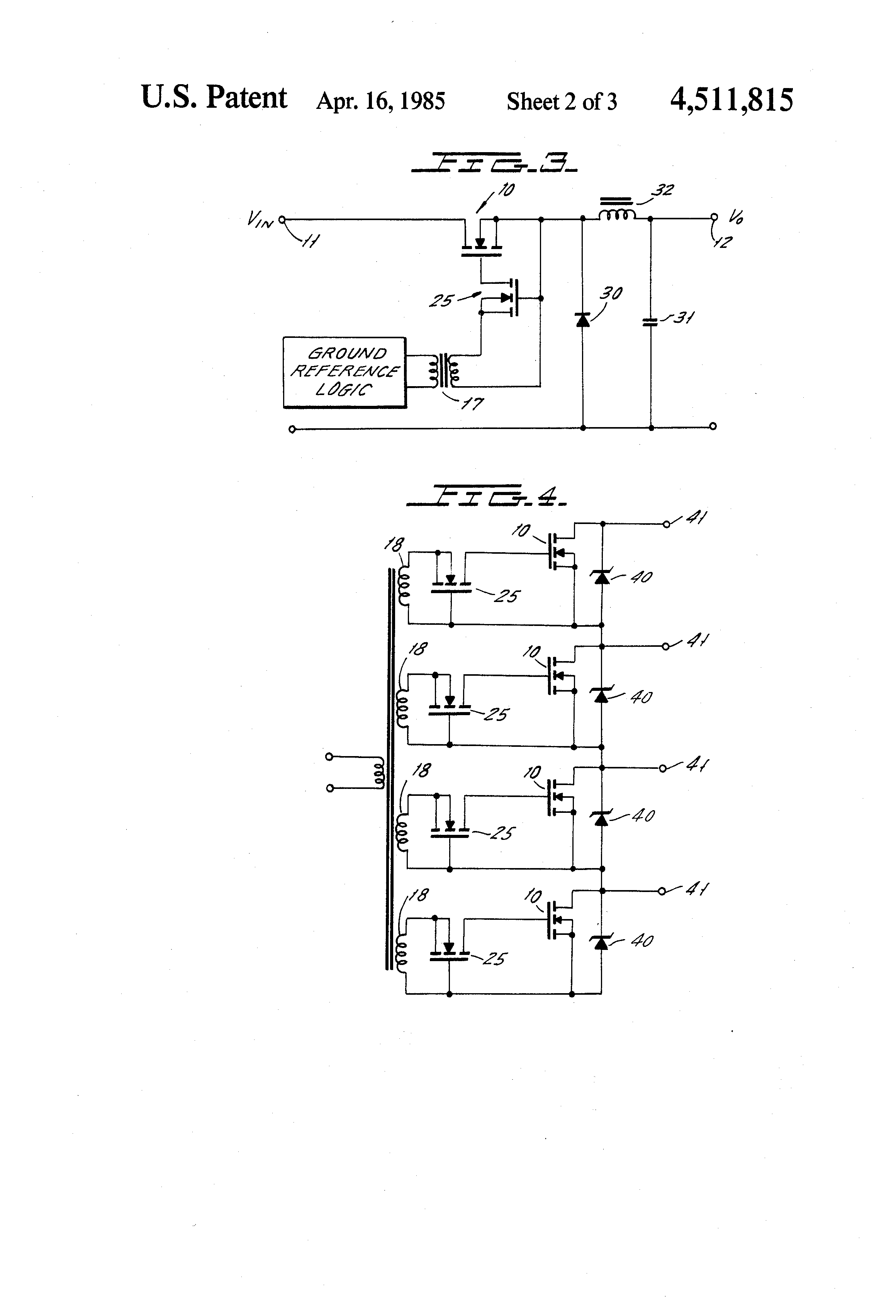 US4511815 2 drive isolation transformer wiring diagram drive wiring diagrams  at edmiracle.co