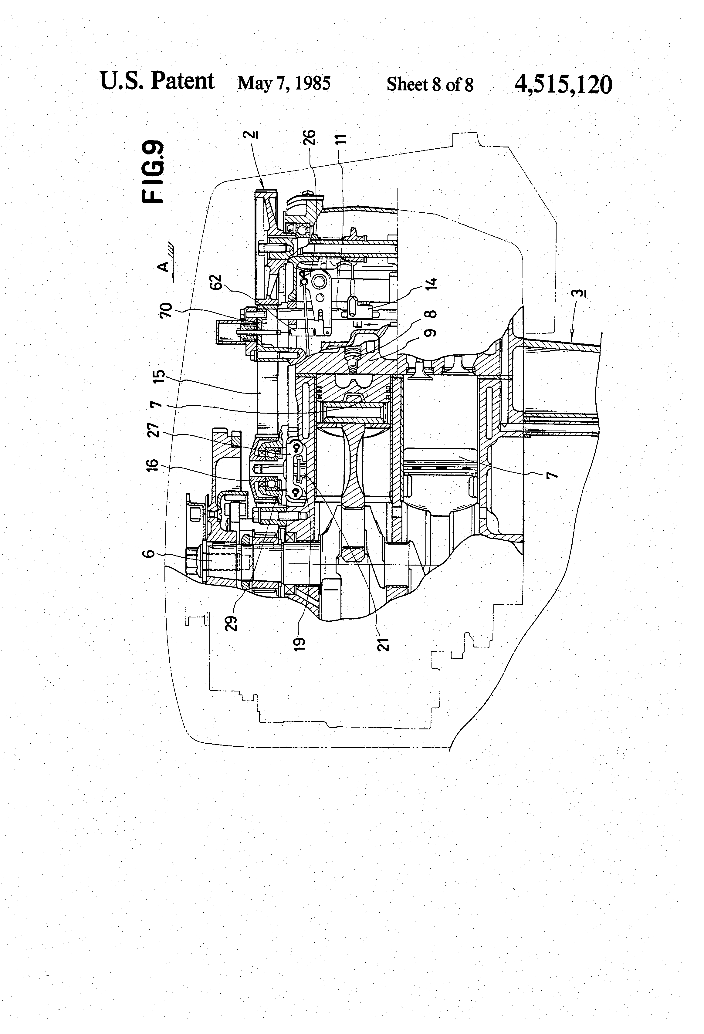 Combustion Engine Lever : Patent us governor for internal combustion engine
