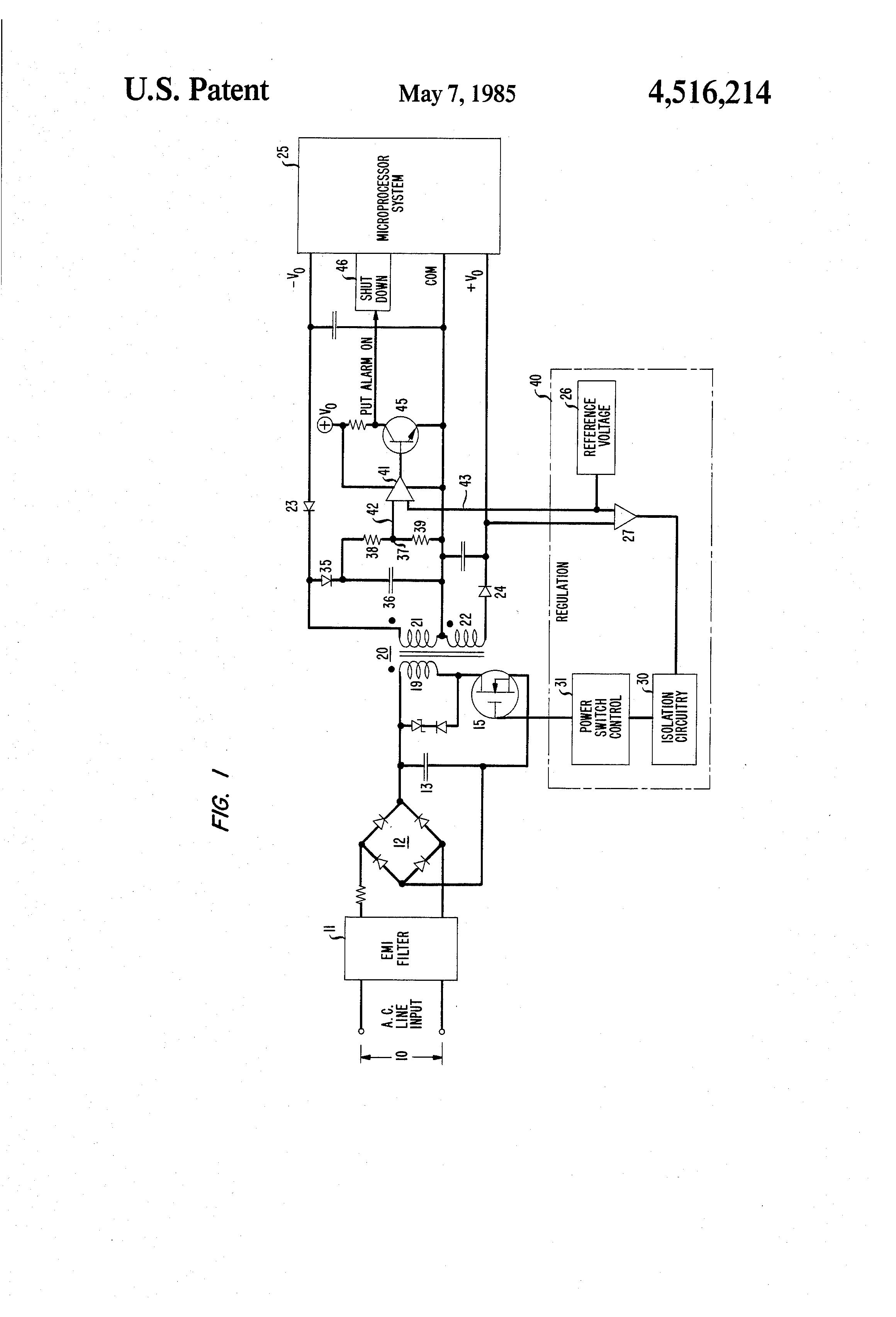 patent us4516214