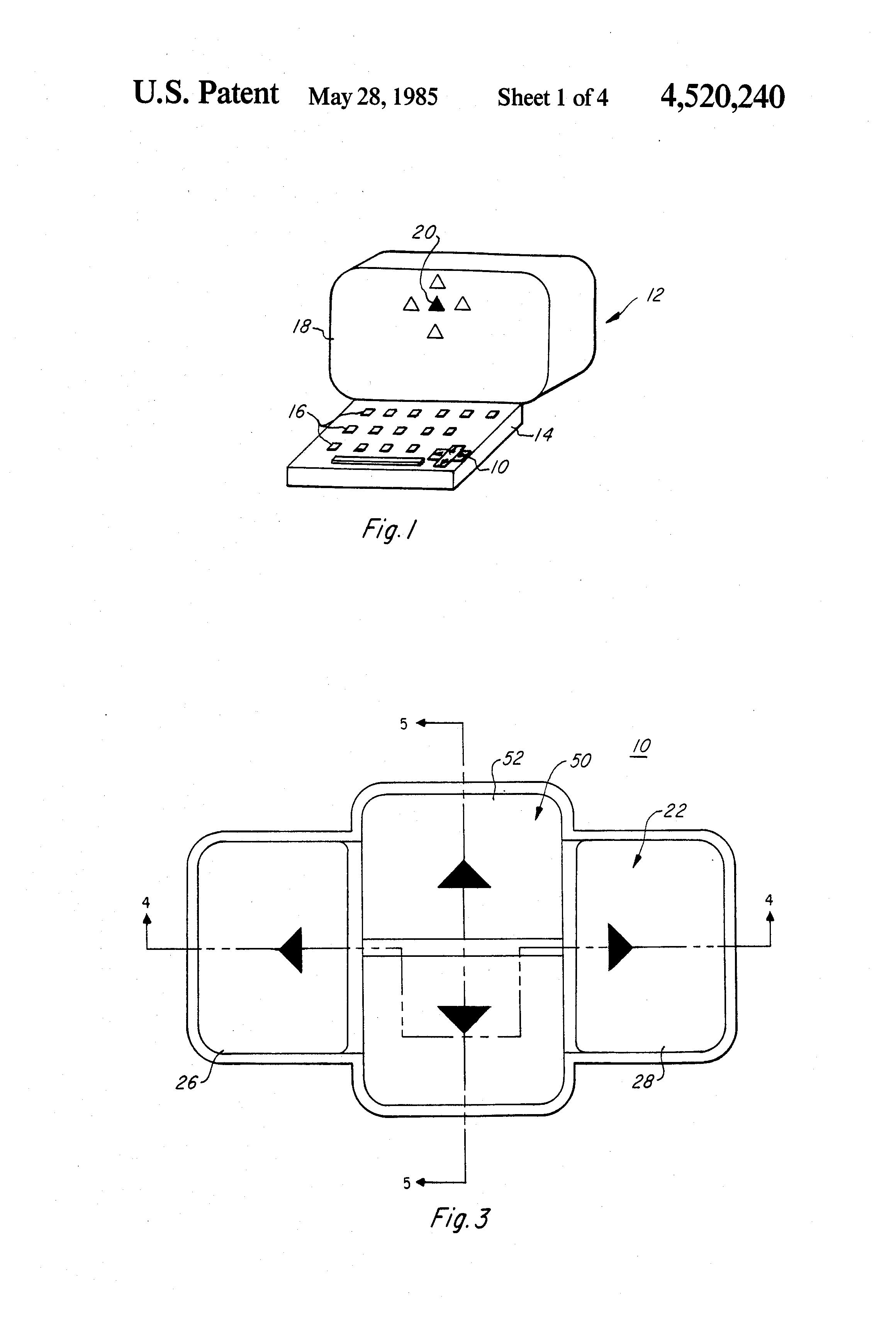patent us4520240
