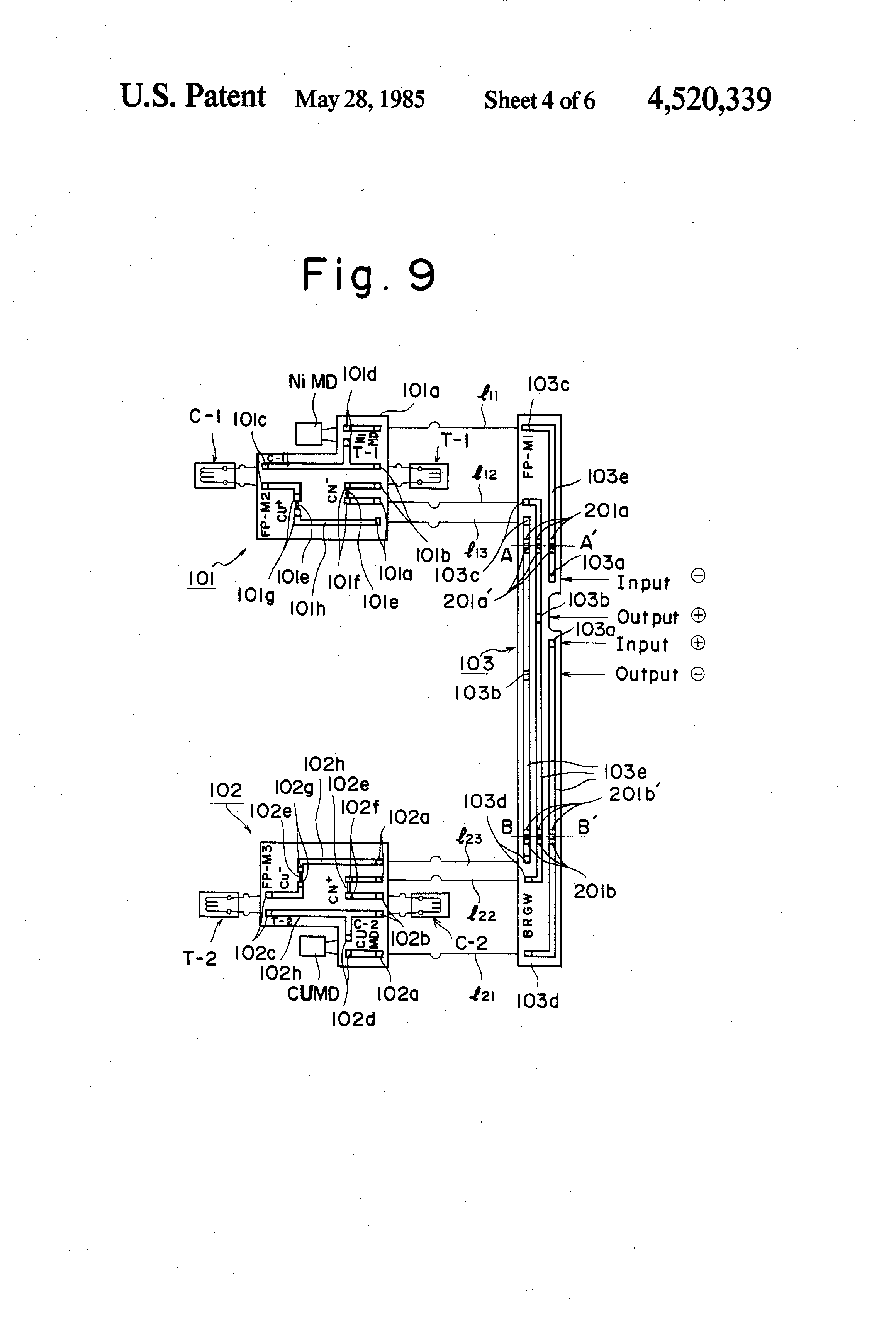 patent us load cell adjustable bridge circuit patent drawing