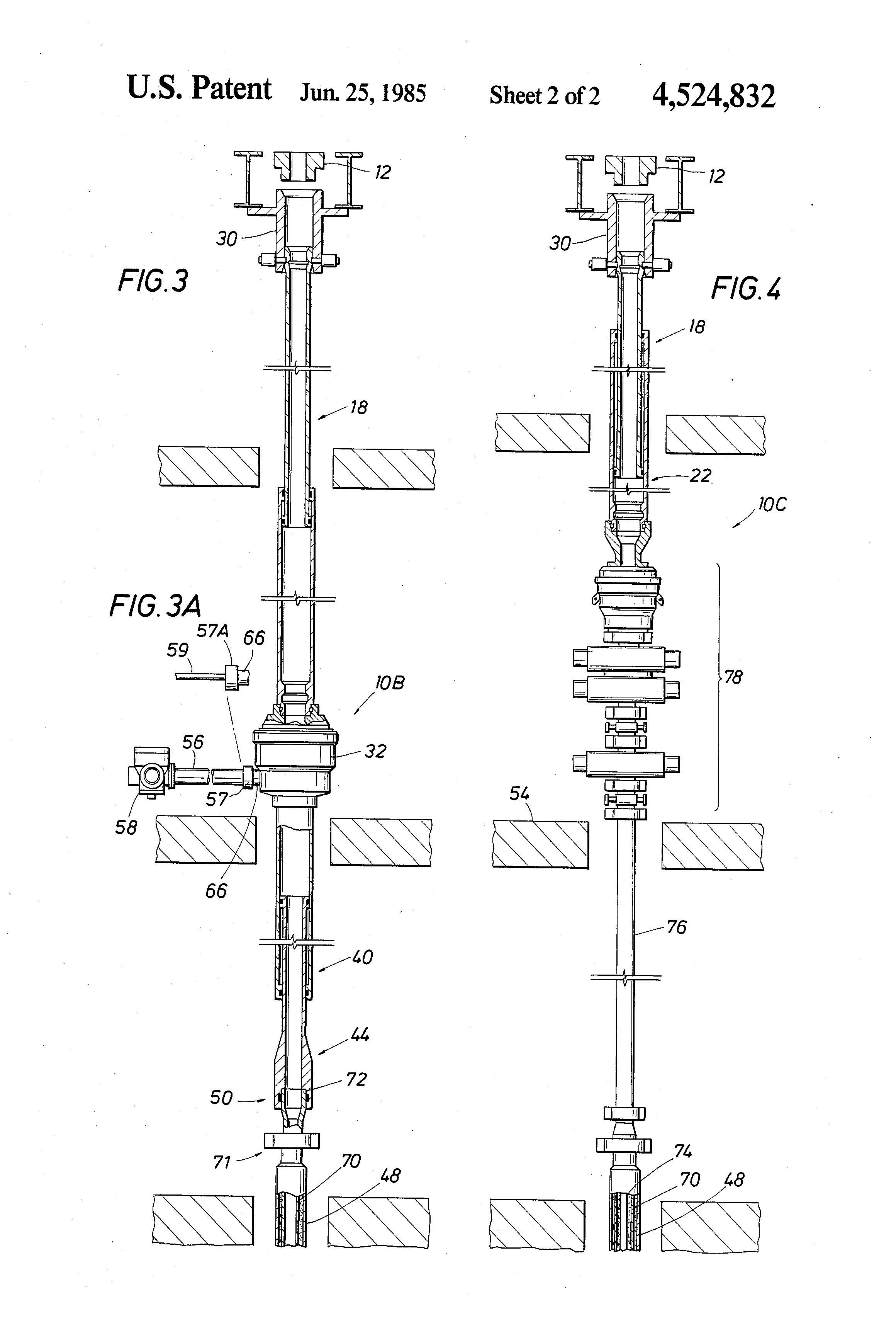 Patent US4597447 - Diverter/bop system and method for a bottom ...