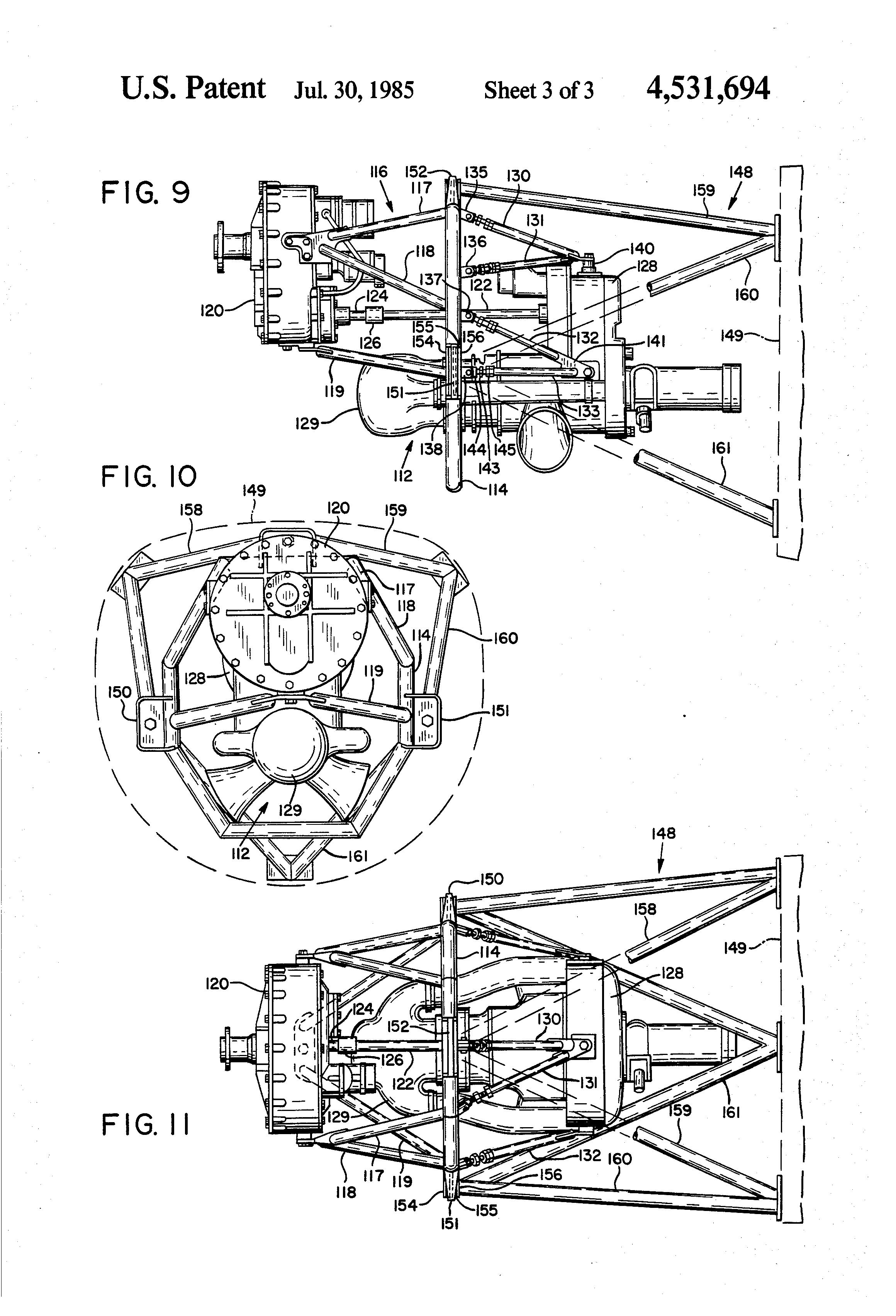 patent us4531694