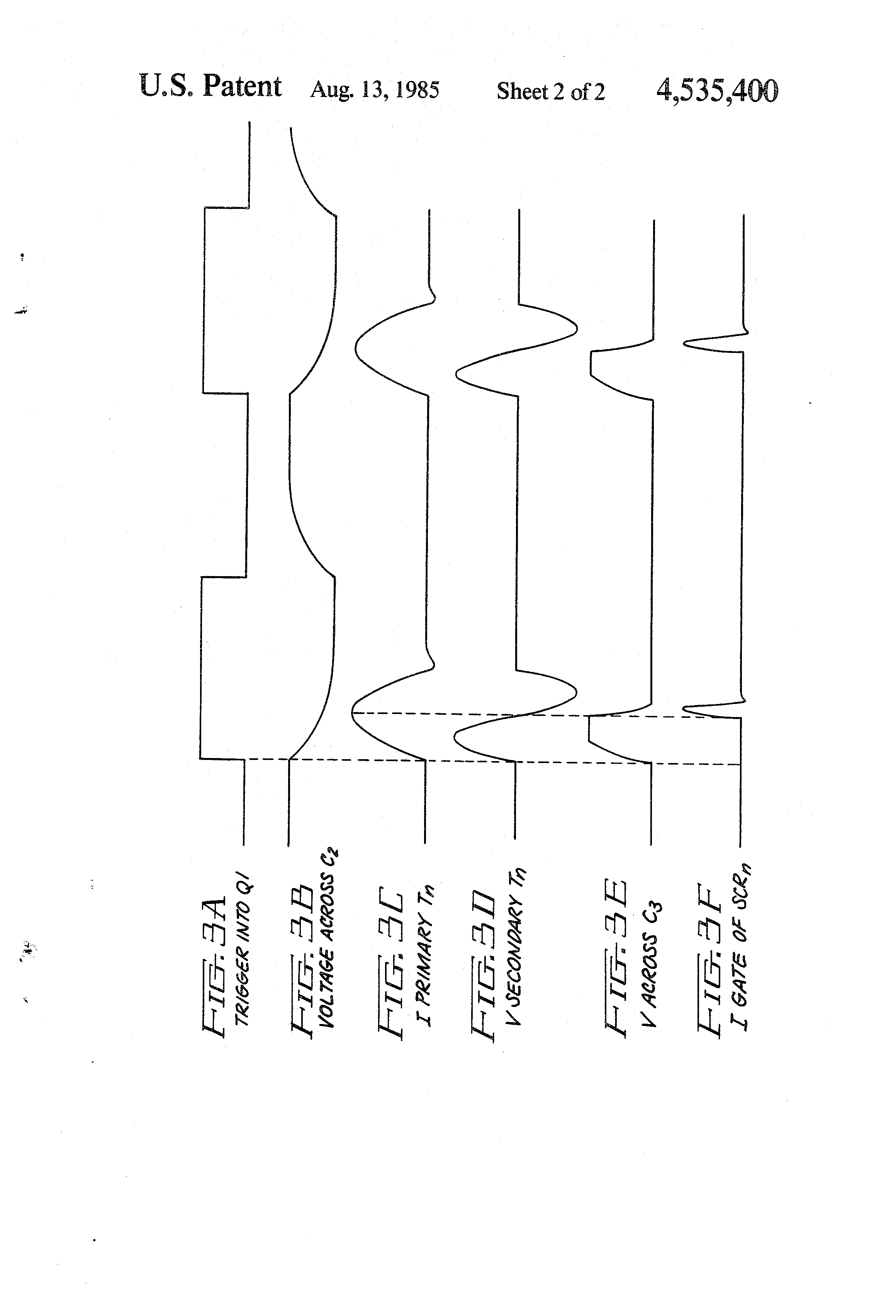 Patent Us4535400 Means And Method For Simultaneously Triggering Scr Triac Circuit With A Positive Power Supply Drawing