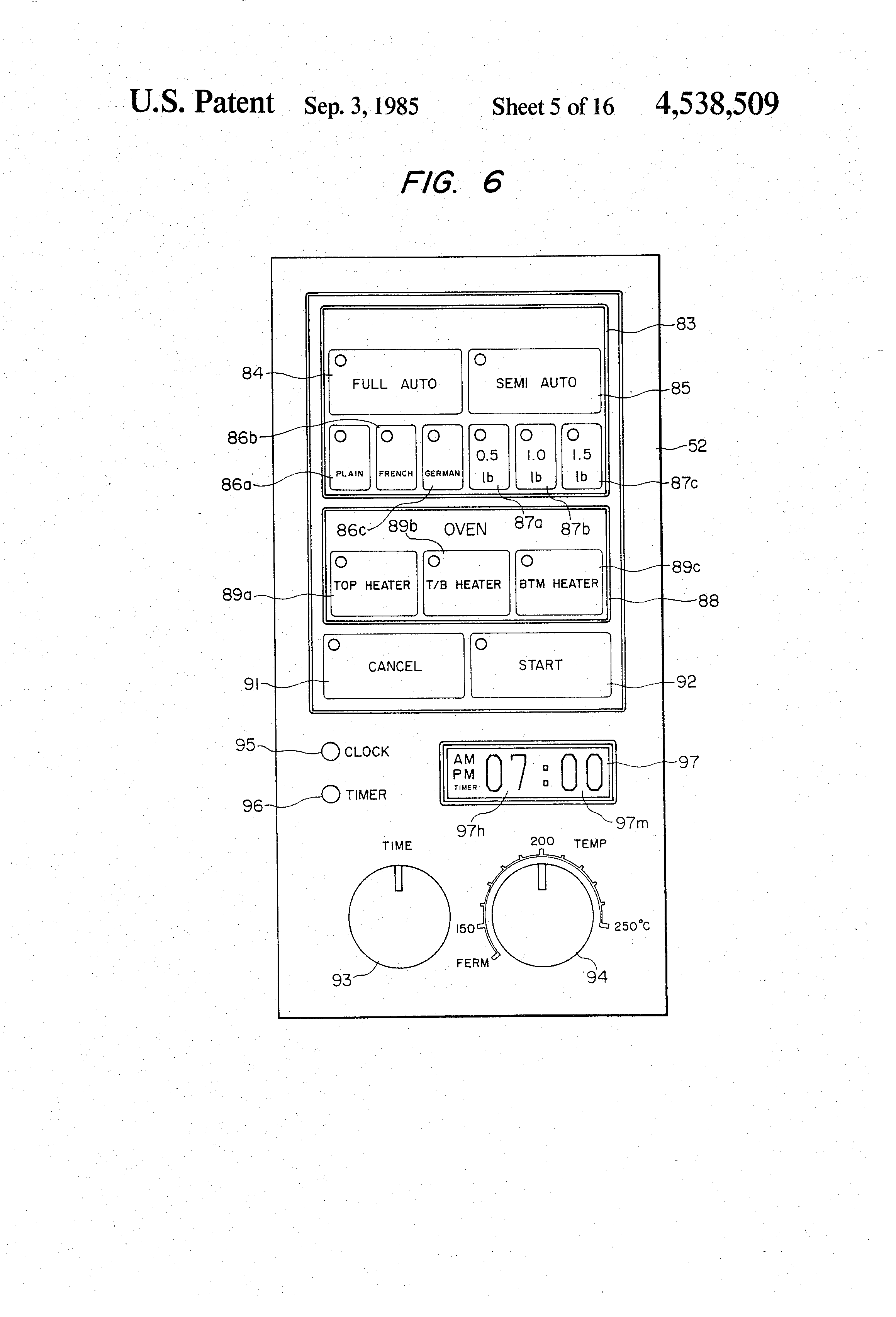 US4538509 5 patent us4538509 automatic bread baking machine google patents  at bayanpartner.co