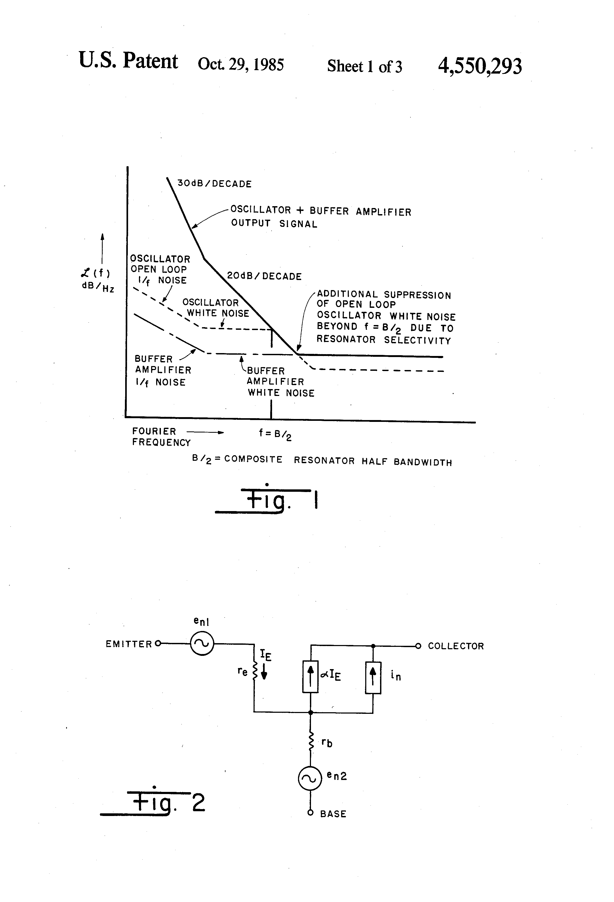 Patent Us4550293 Narrow Deviation Voltage Controlled Crystal Oscillator Circuit Besides Schematic In Output Signal Frequency Stability Images3 Drawing