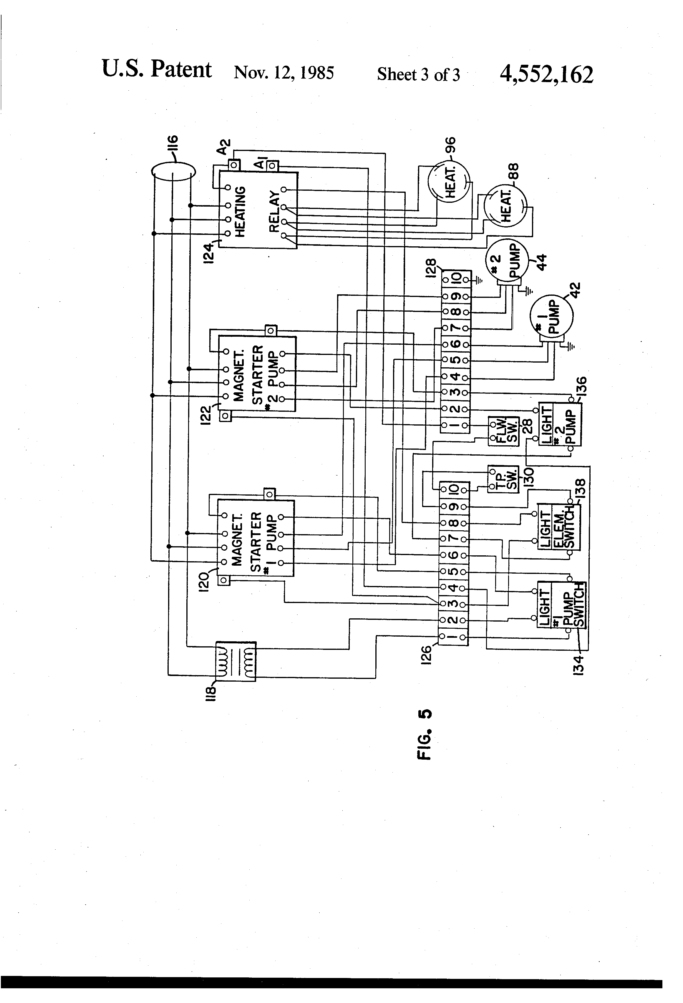 US4552162 3 patent us4552162 electric combination cleaner google patents hot water pressure washer wiring diagram at bayanpartner.co