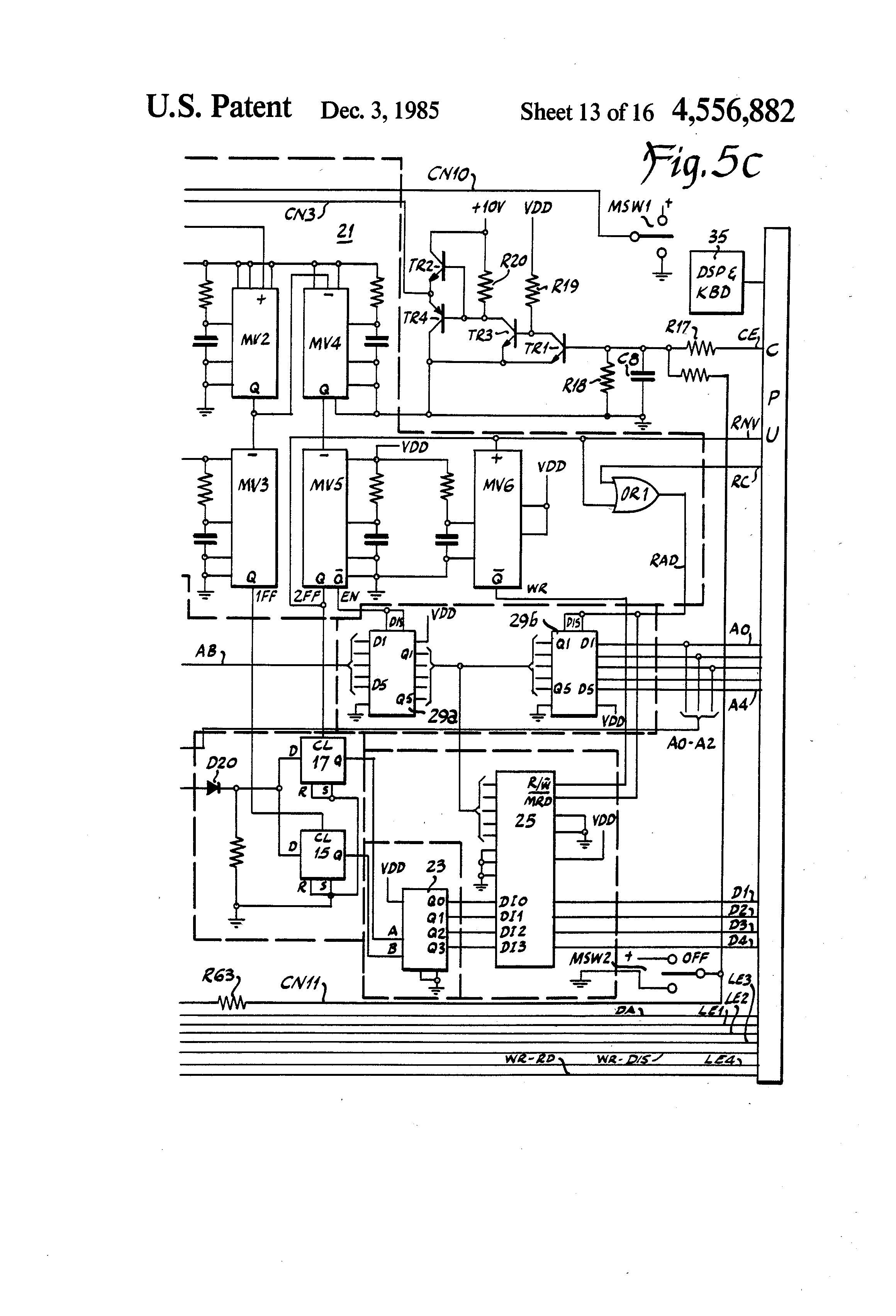 patent us4556882