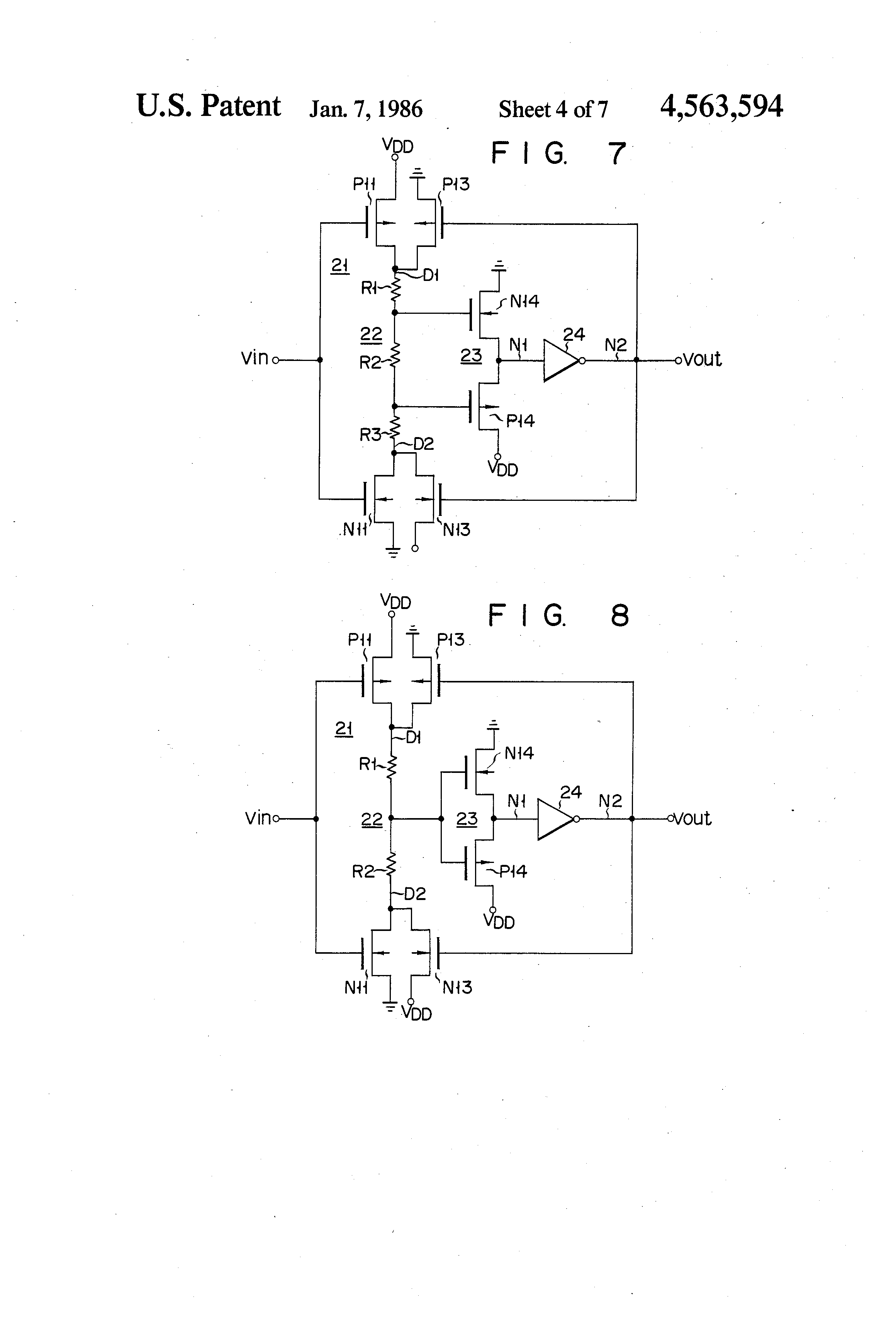 patent us4563594