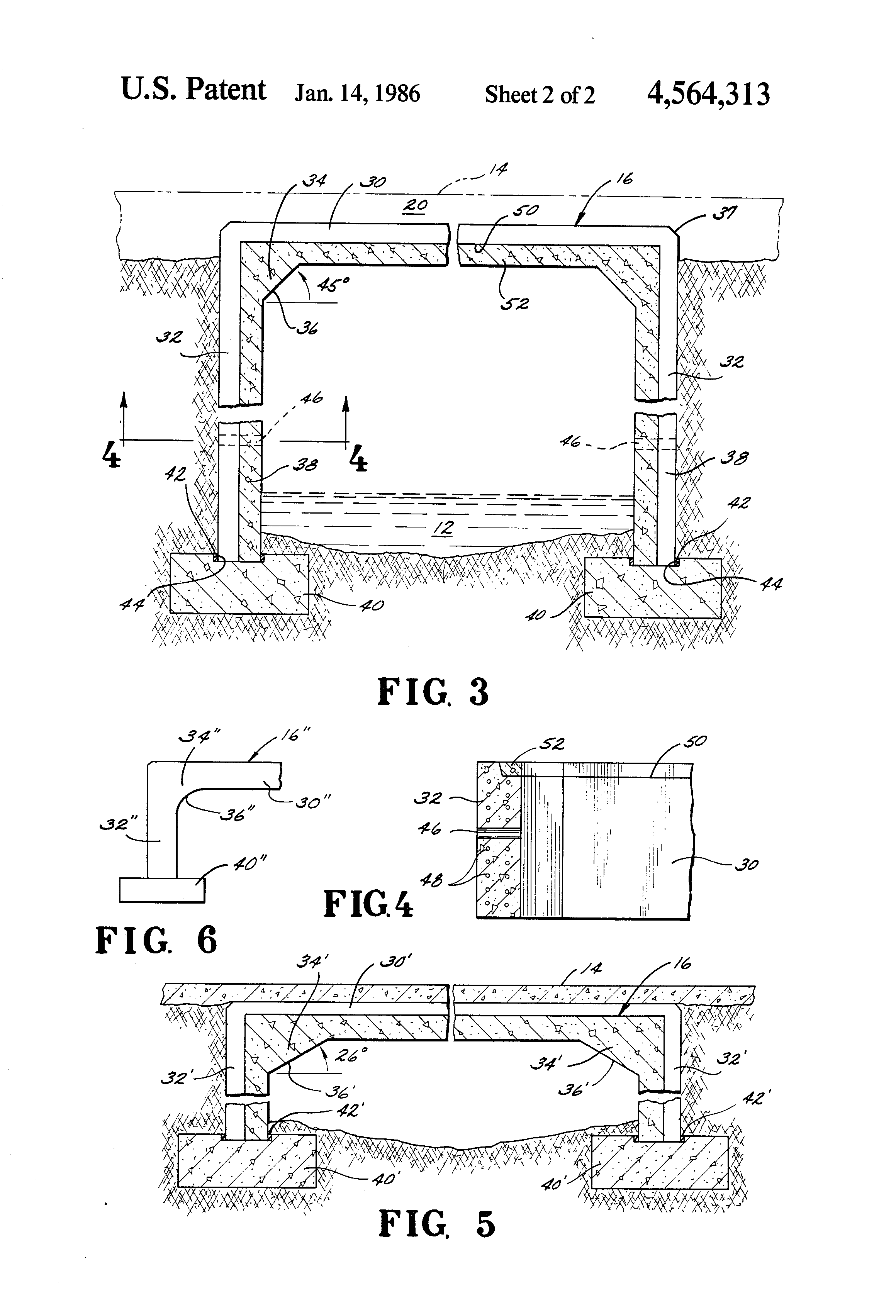 Simple Slab Culvert Design Drawings : Patent US4564313 - Rectilinear culvert structure - Google Patents