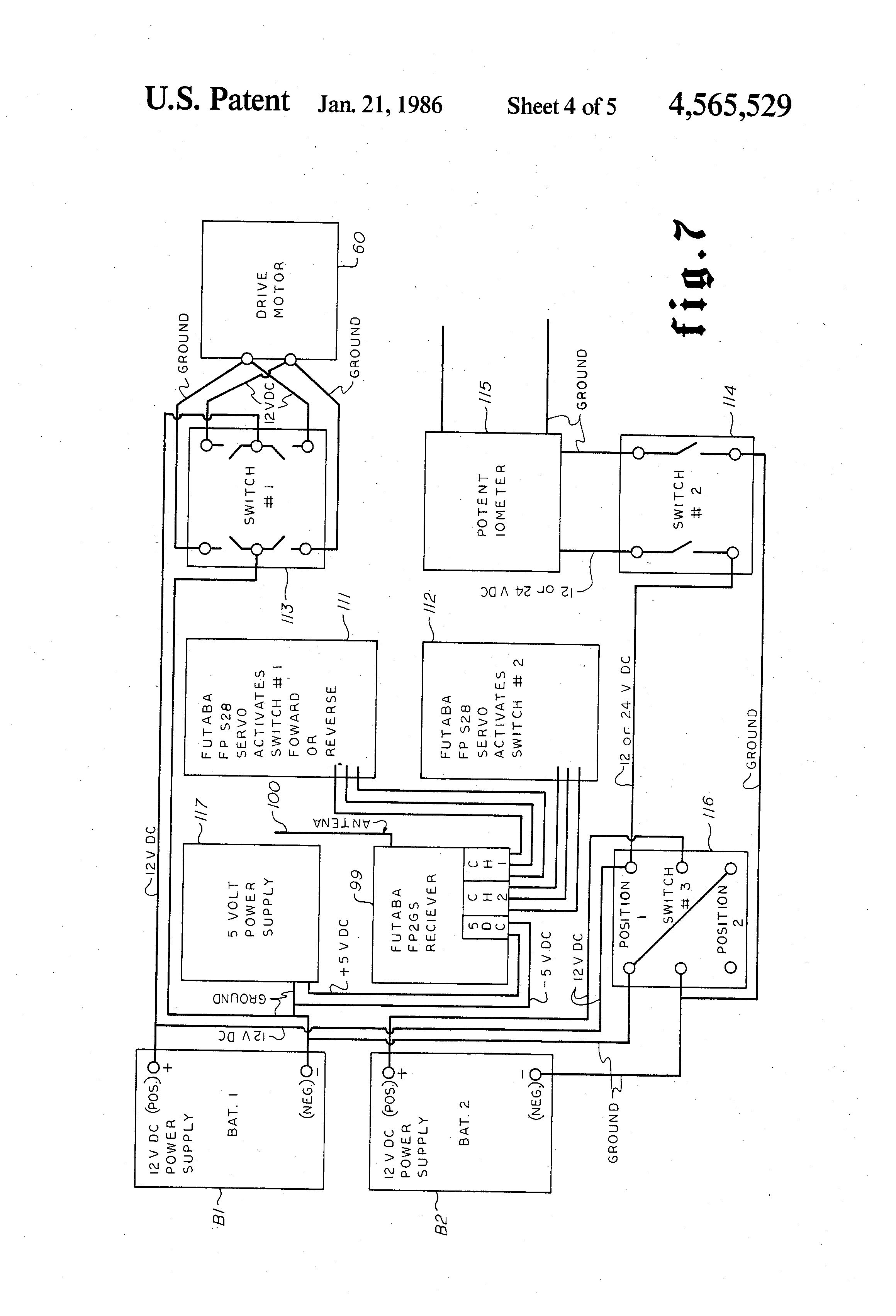 US4565529 4 patent us4565529 remotely controlled steering apparatus for taylor dunn b210 wiring diagram at cos-gaming.co