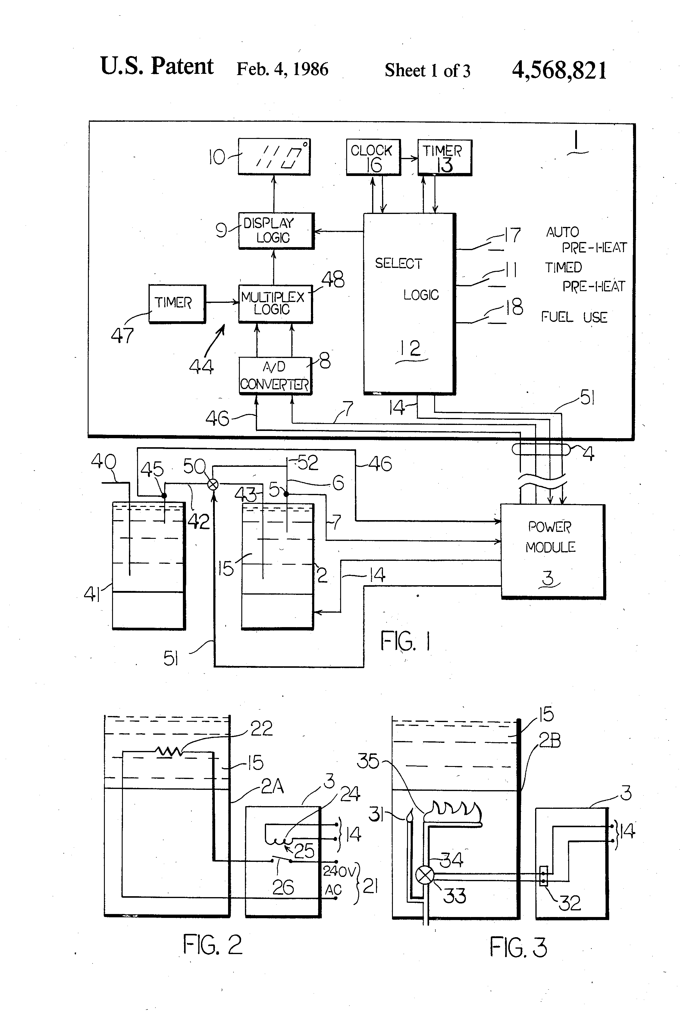 US4568821 1 patent us4568821 remote water heater controller google patents thermospa wiring diagram at honlapkeszites.co
