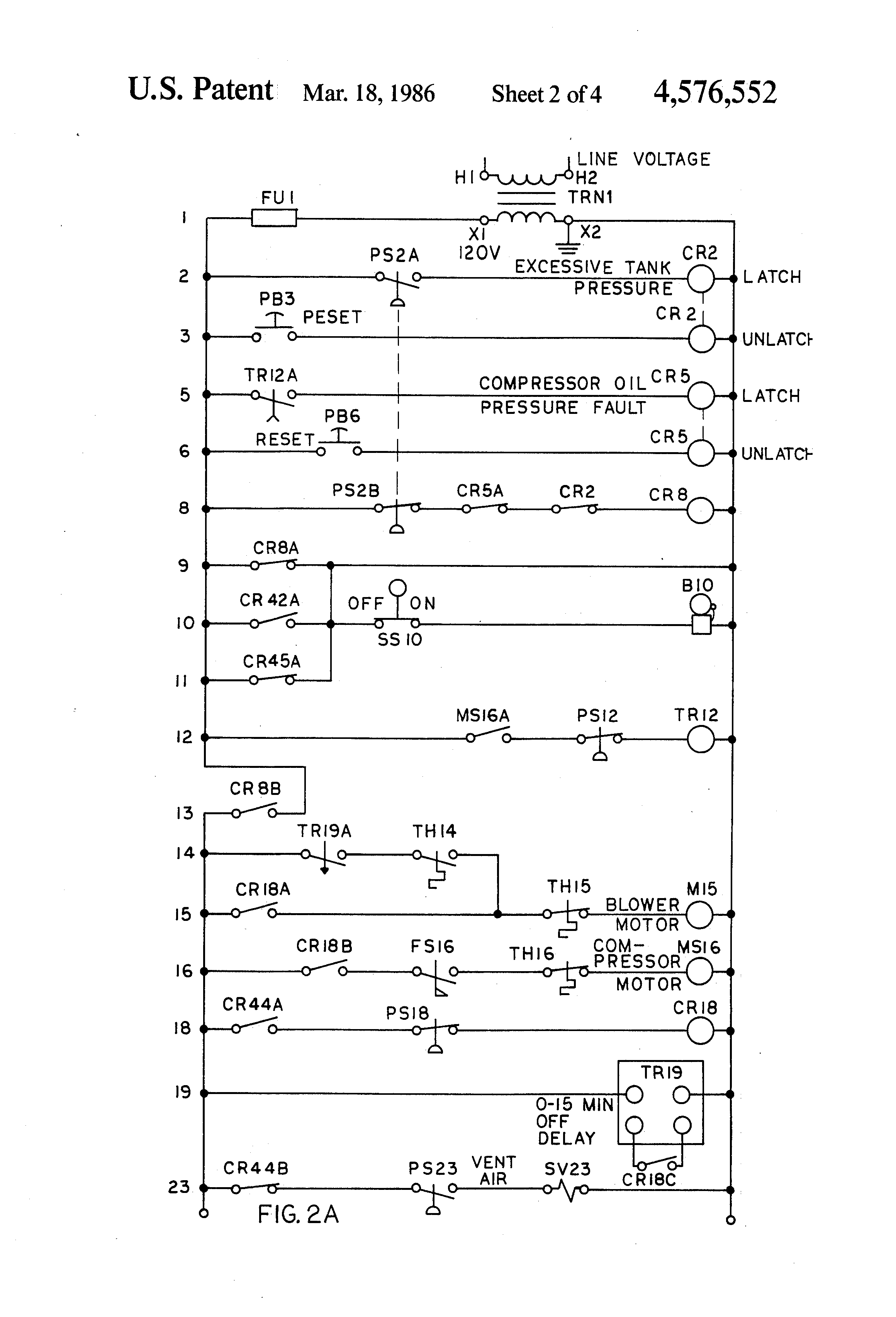 US4576552 2 patent us4576552 air and water volume control apparatus for lead lag pump control wiring diagram at bayanpartner.co