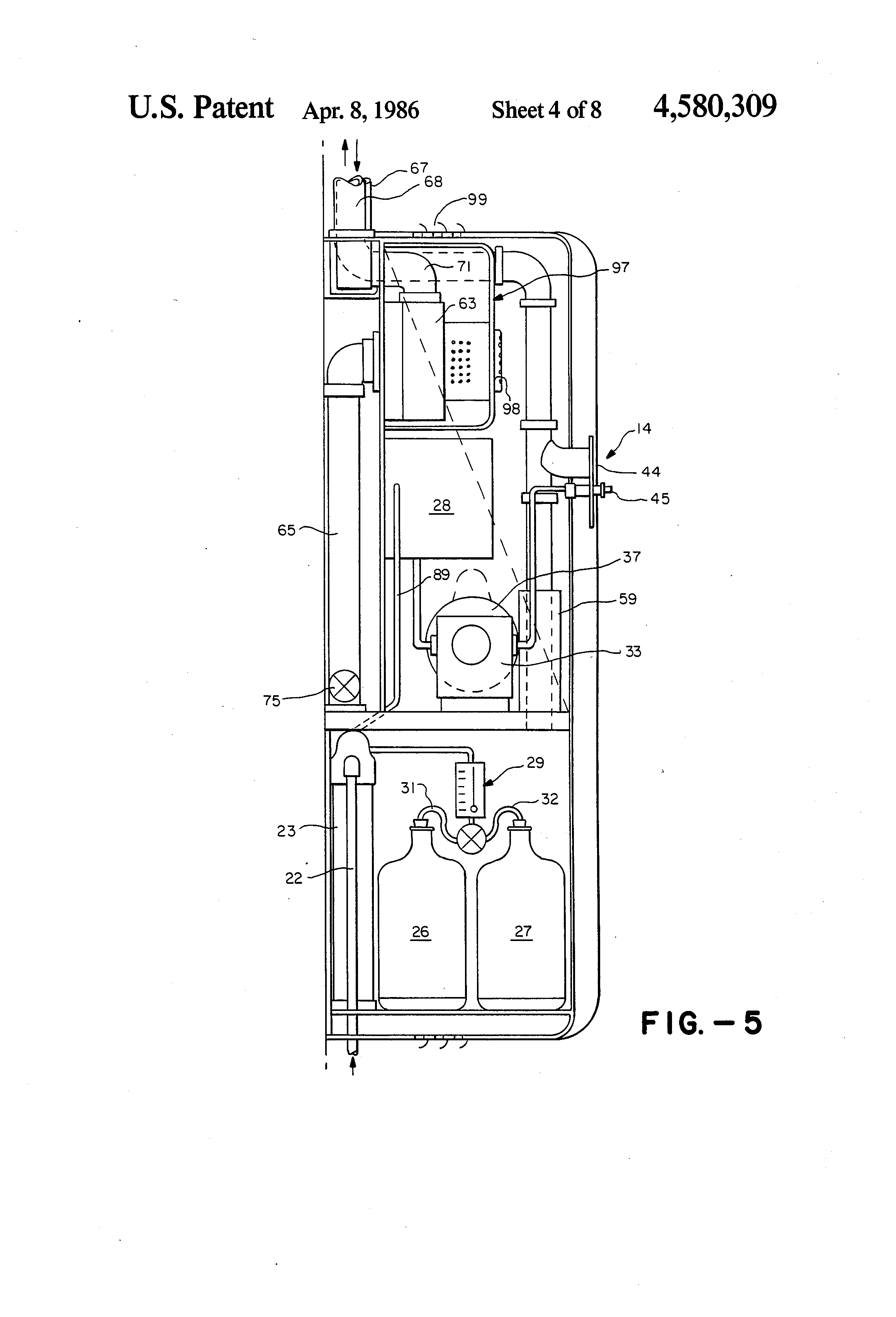 patent us self contained multi function cleaning system patent drawing