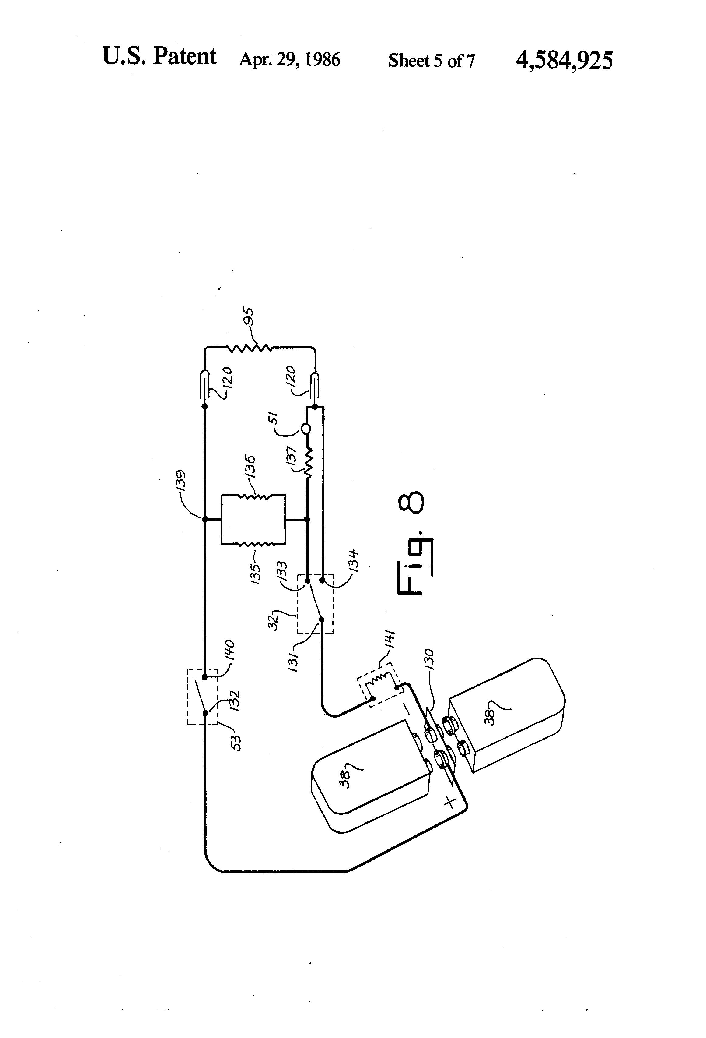 patent us4584925