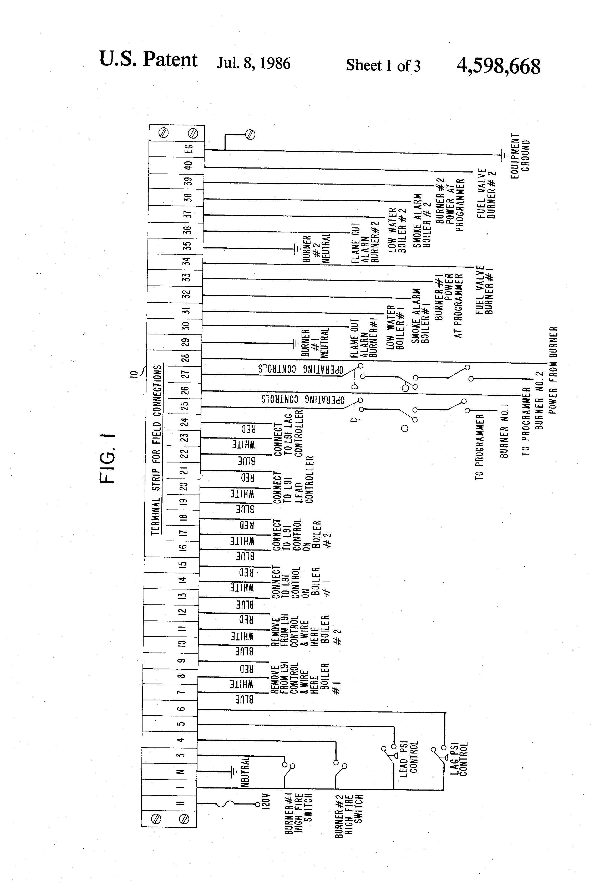 patent us4598668 apparatus for efficiently controlling the patent drawing