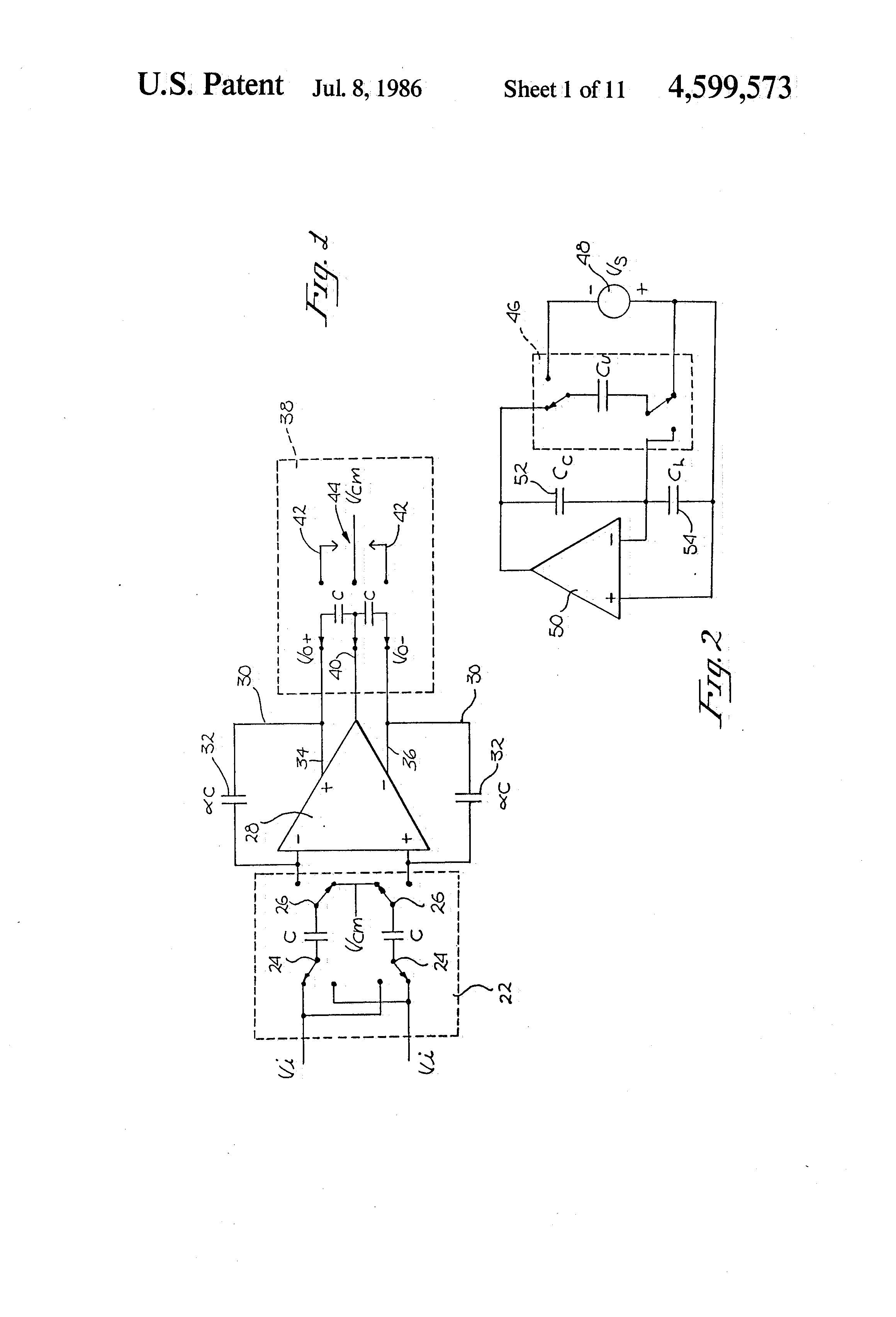 patent us4599573