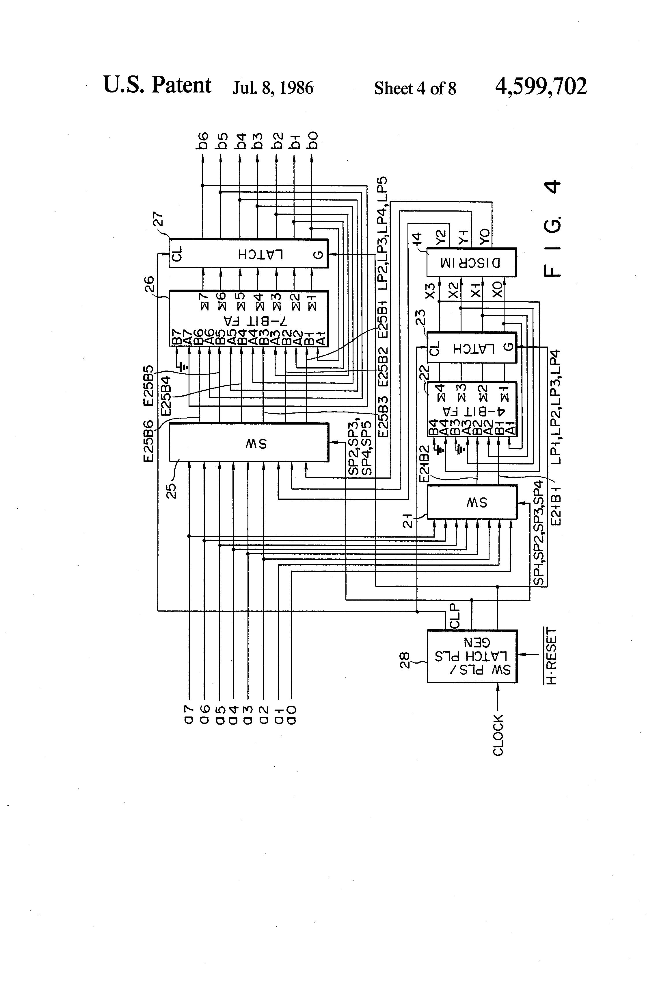 patent us4599702