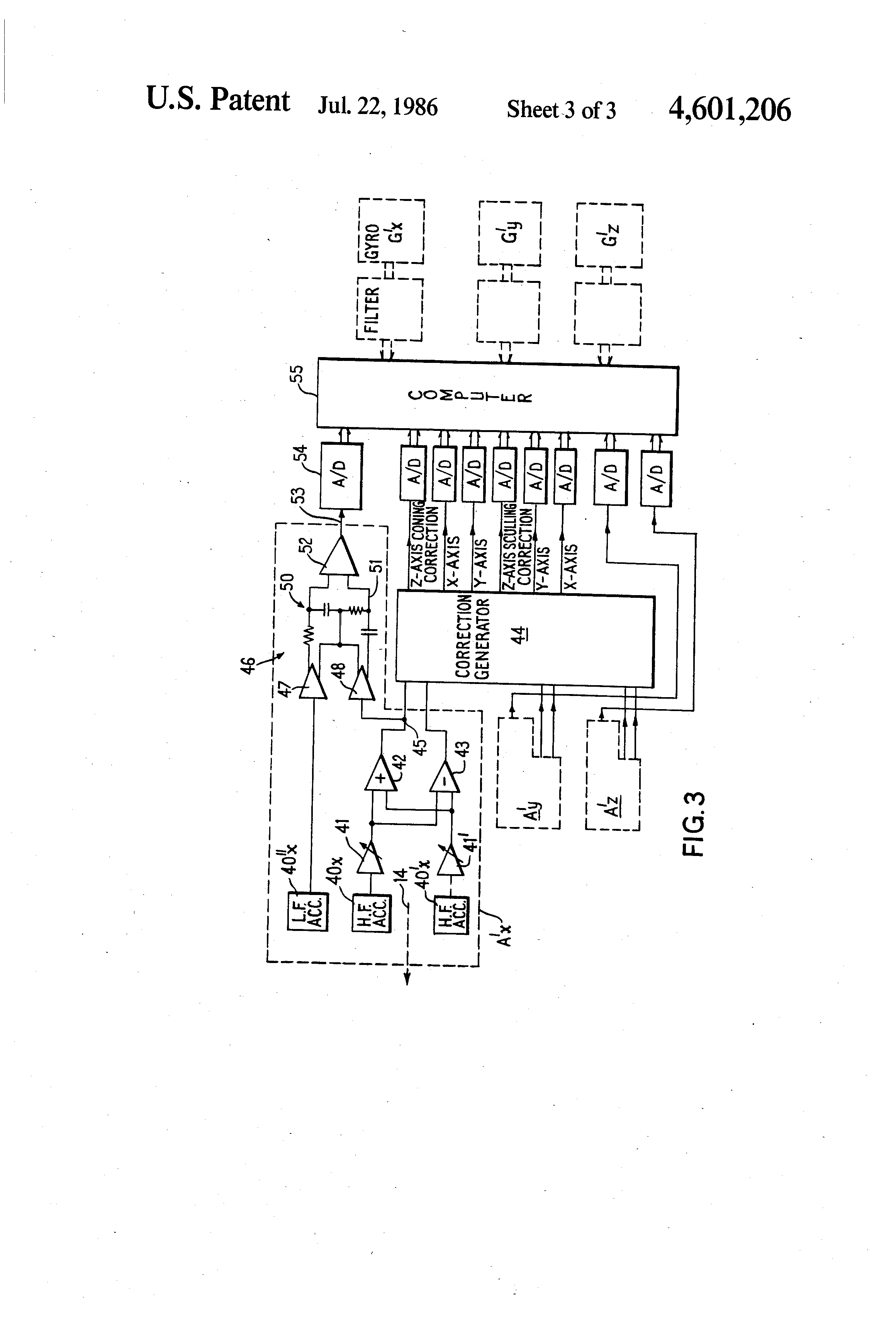 patent us4601206 - accelerometer system