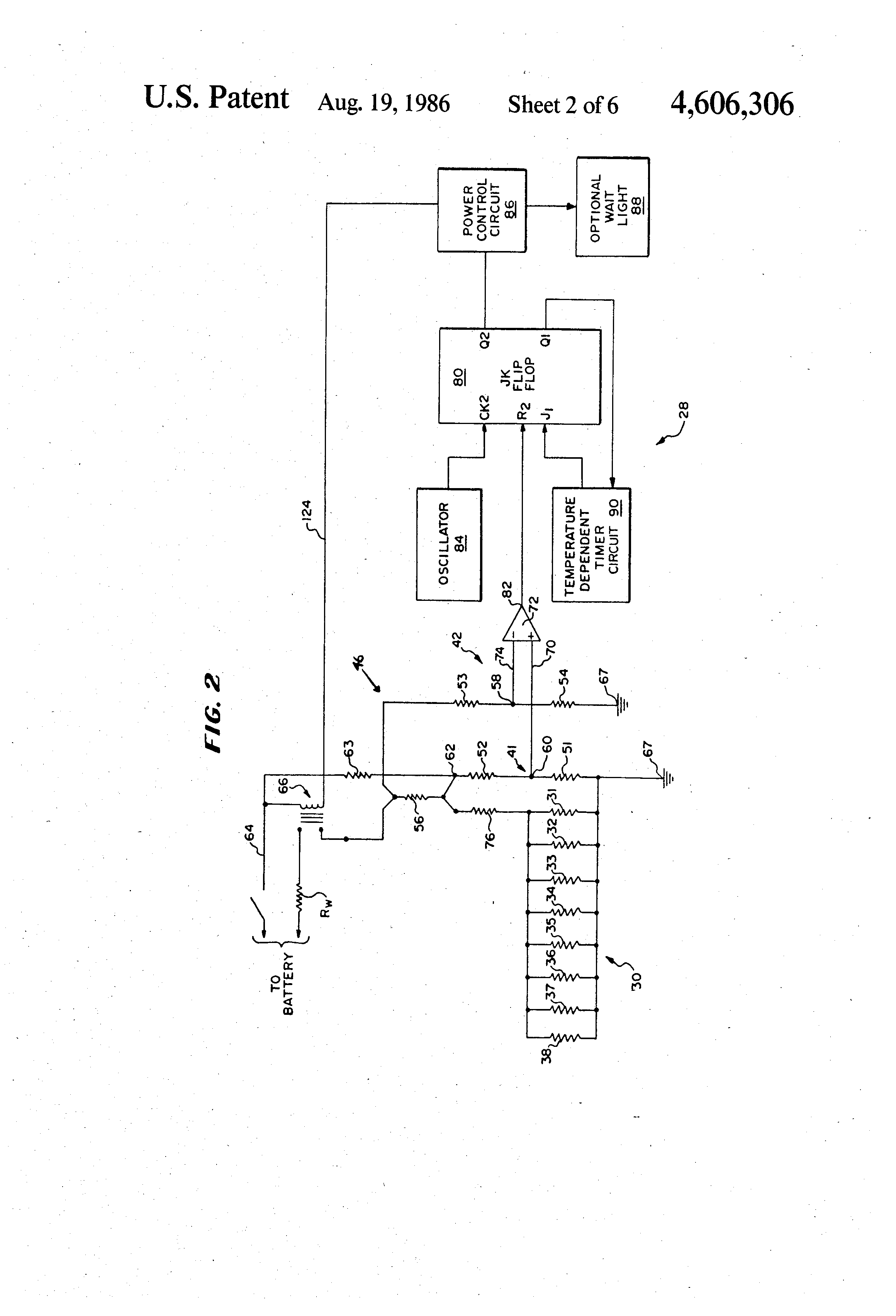 patent us4606306 glow plug control circuit google patents patent drawing