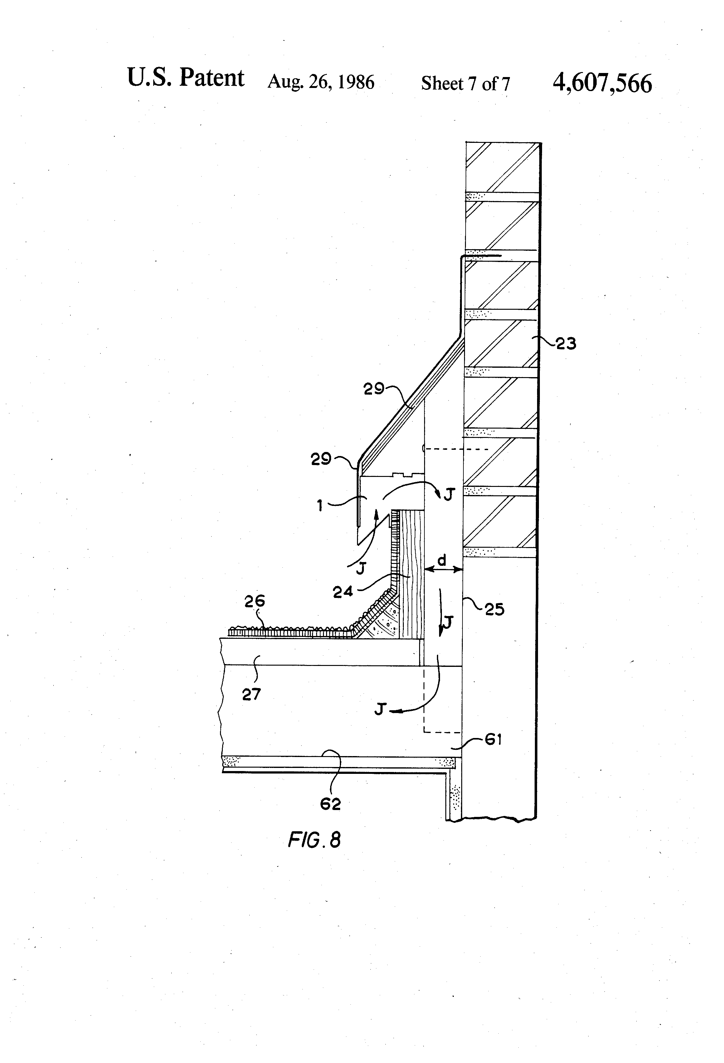 Patent Us4607566 Ventilator For Use In A Roof Structure
