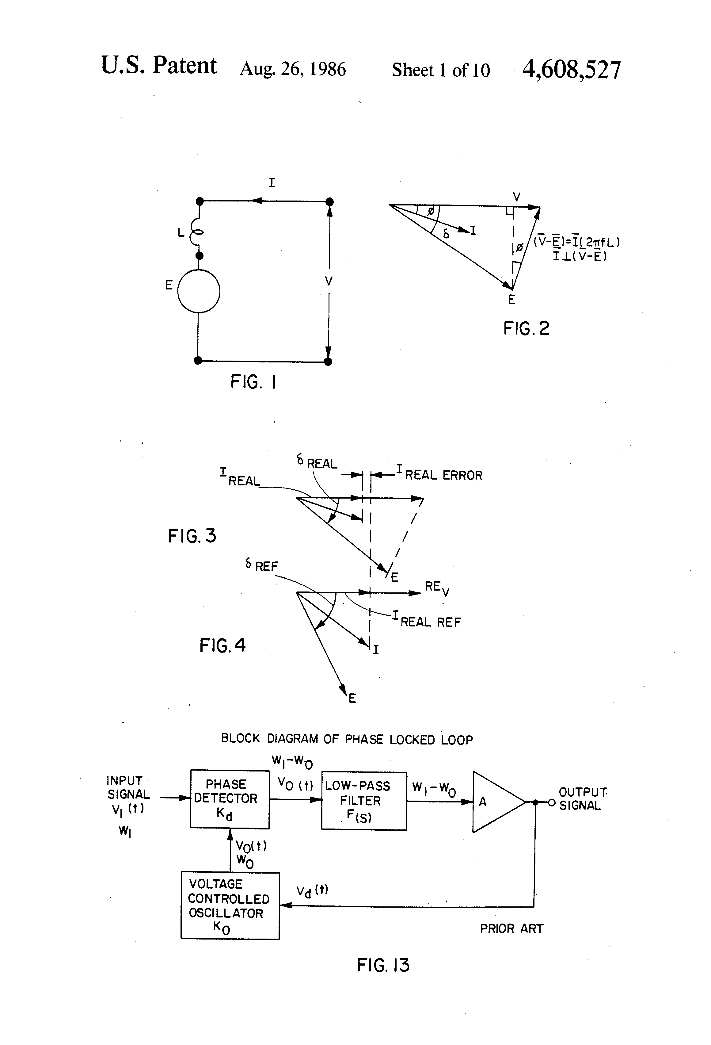 Patent Us4608527 Phase Advance Waveform Generator For Brushless Dc Figure 2 Transformercircuit Diagram Drawing