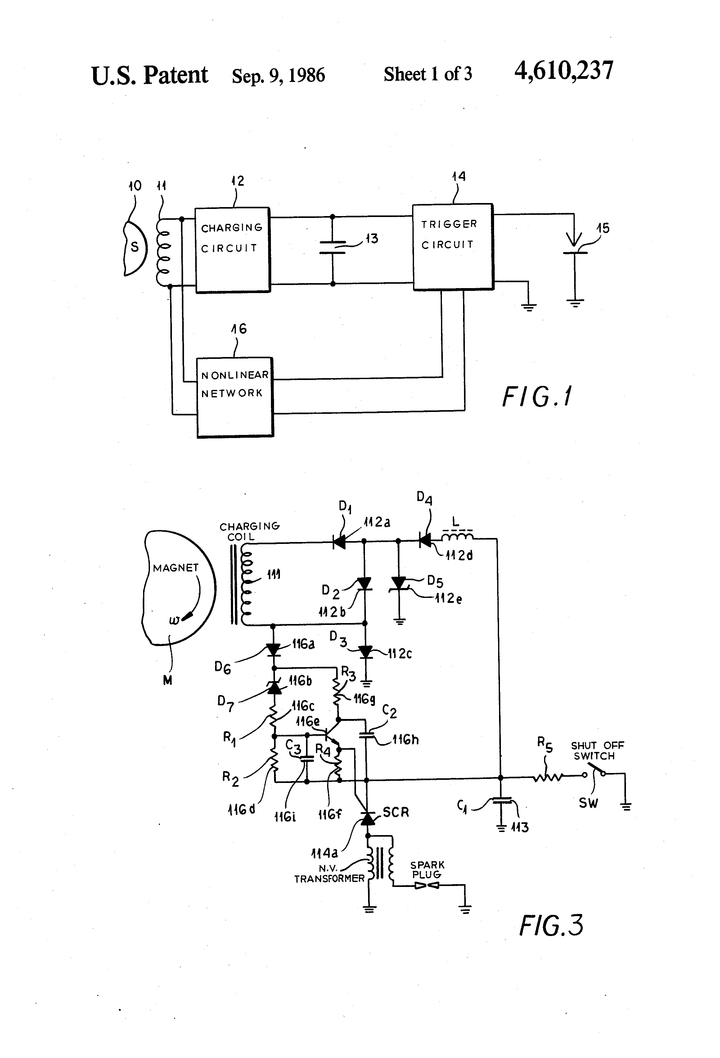 US4610237 1 patent us4610237 ignition circuit, especially for magneto magneto circuit diagram at gsmx.co