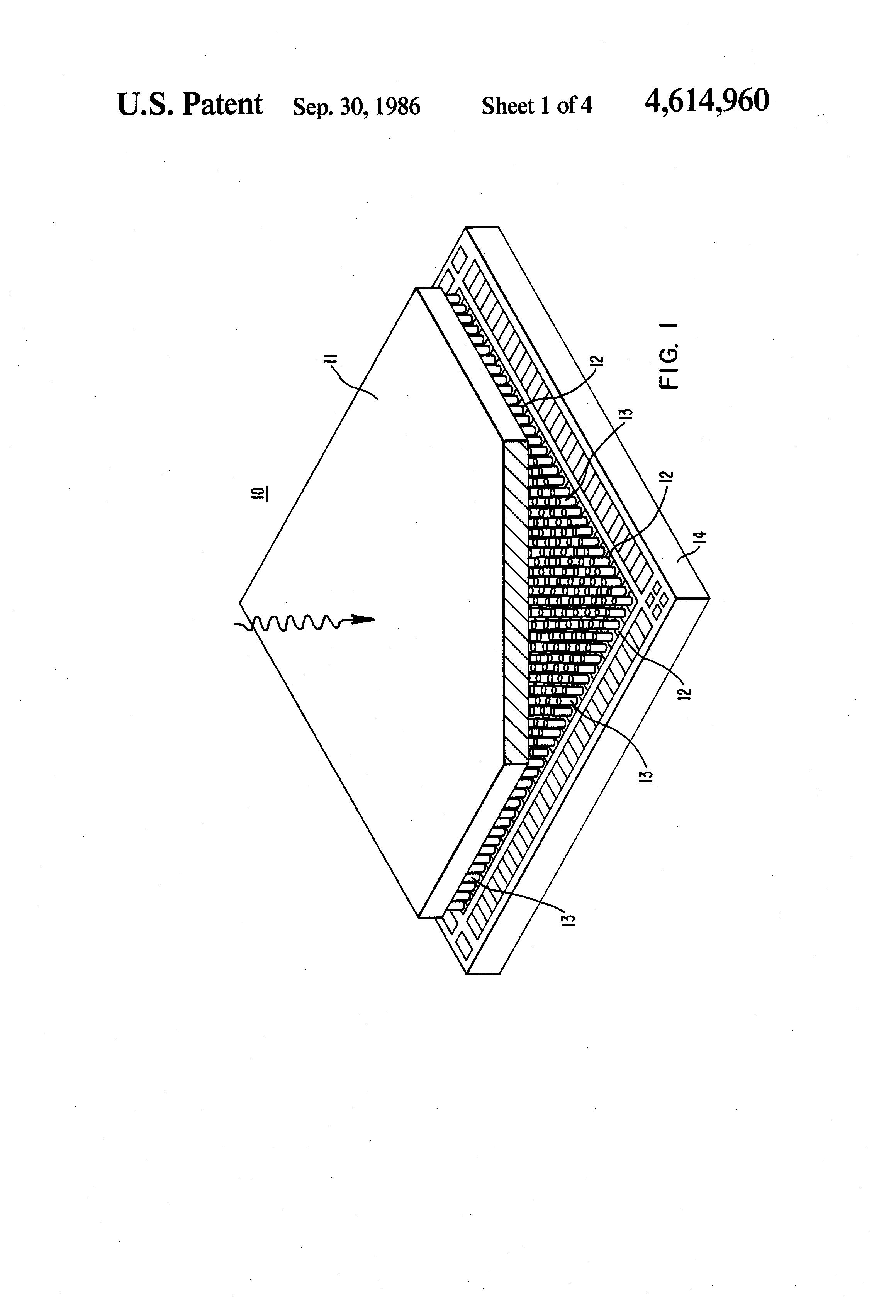 patent us4614960 - focal plane array
