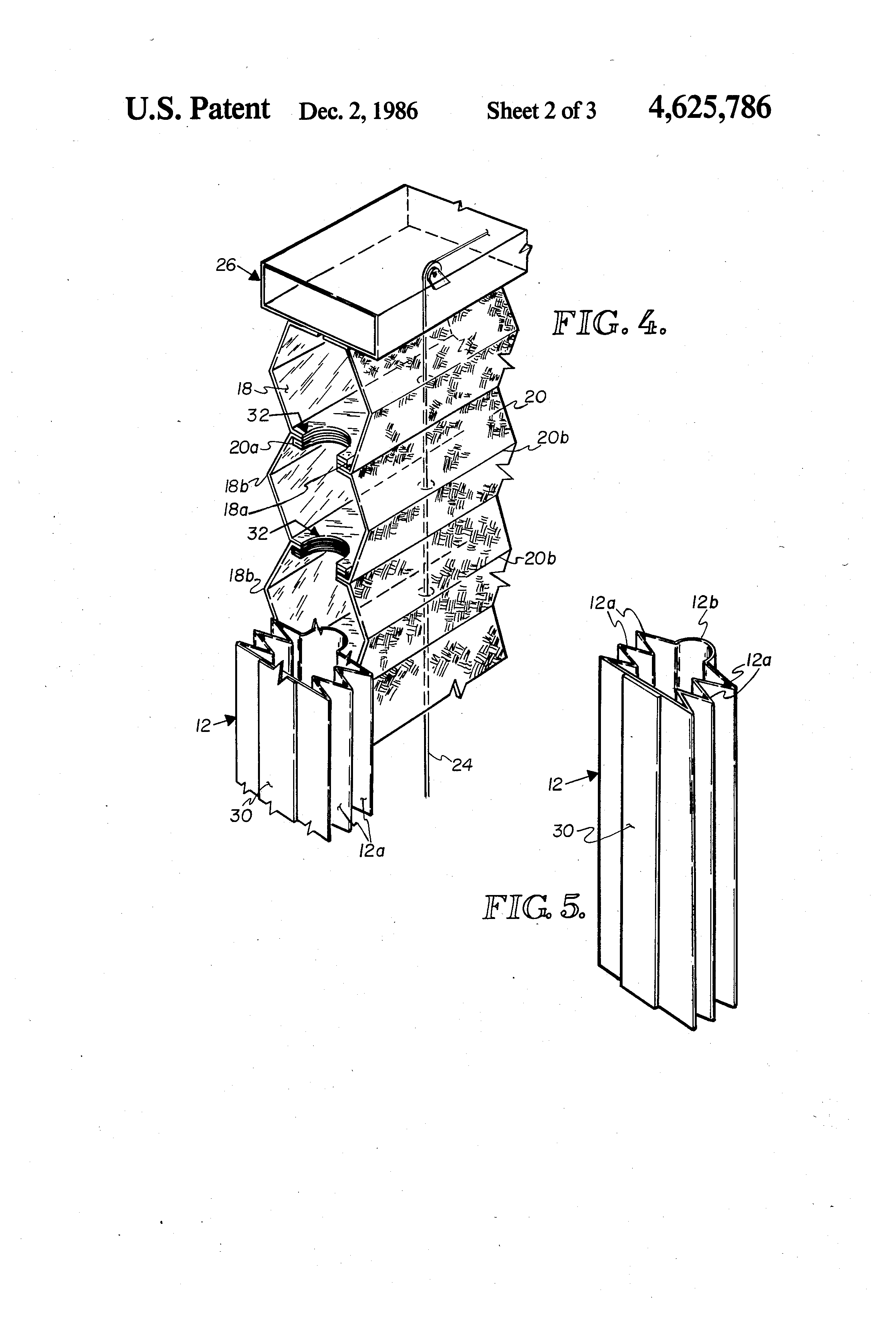 Insulated Glass Assembly : Patent us insulated window shade assembly