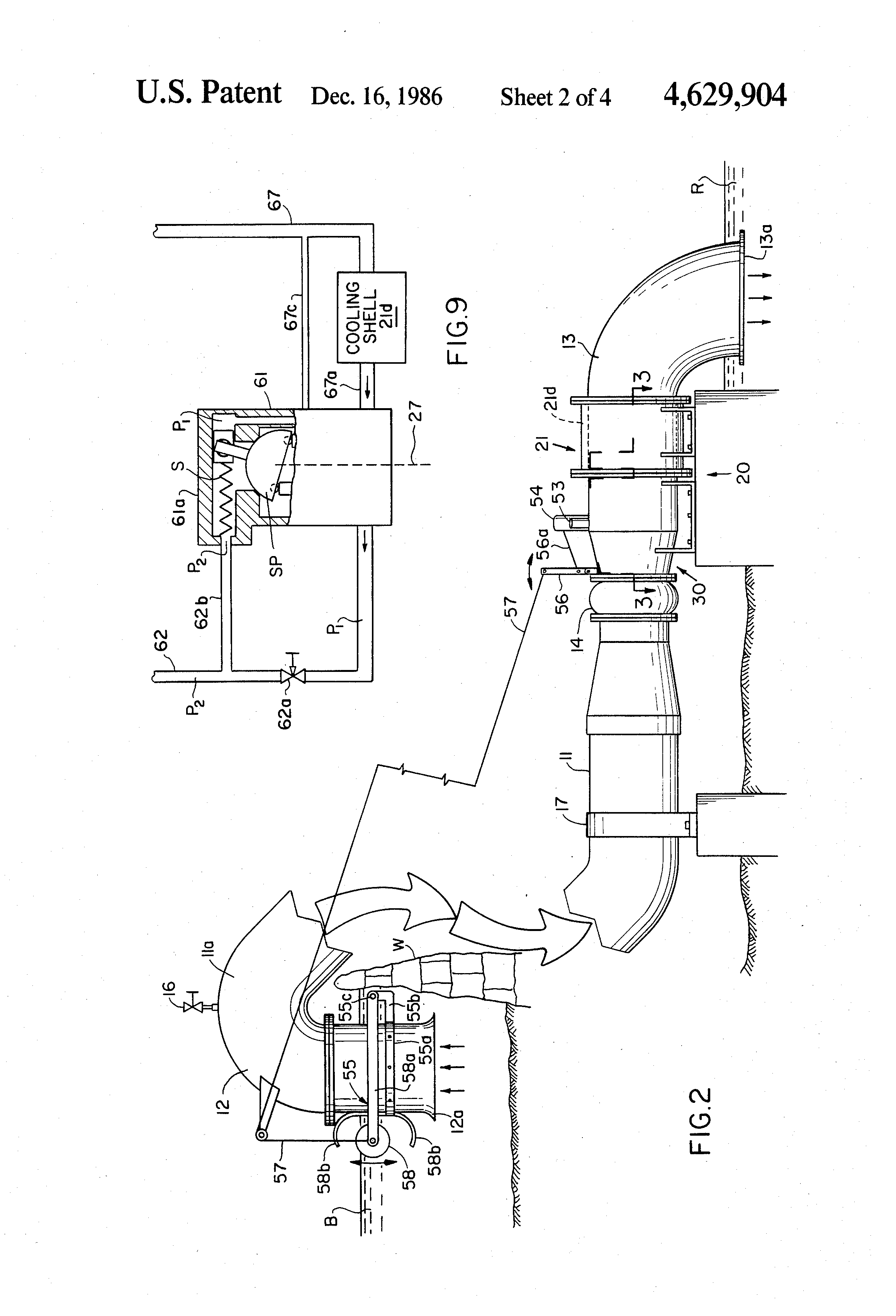 patent us4629904 - micro-hydroelectric power plant