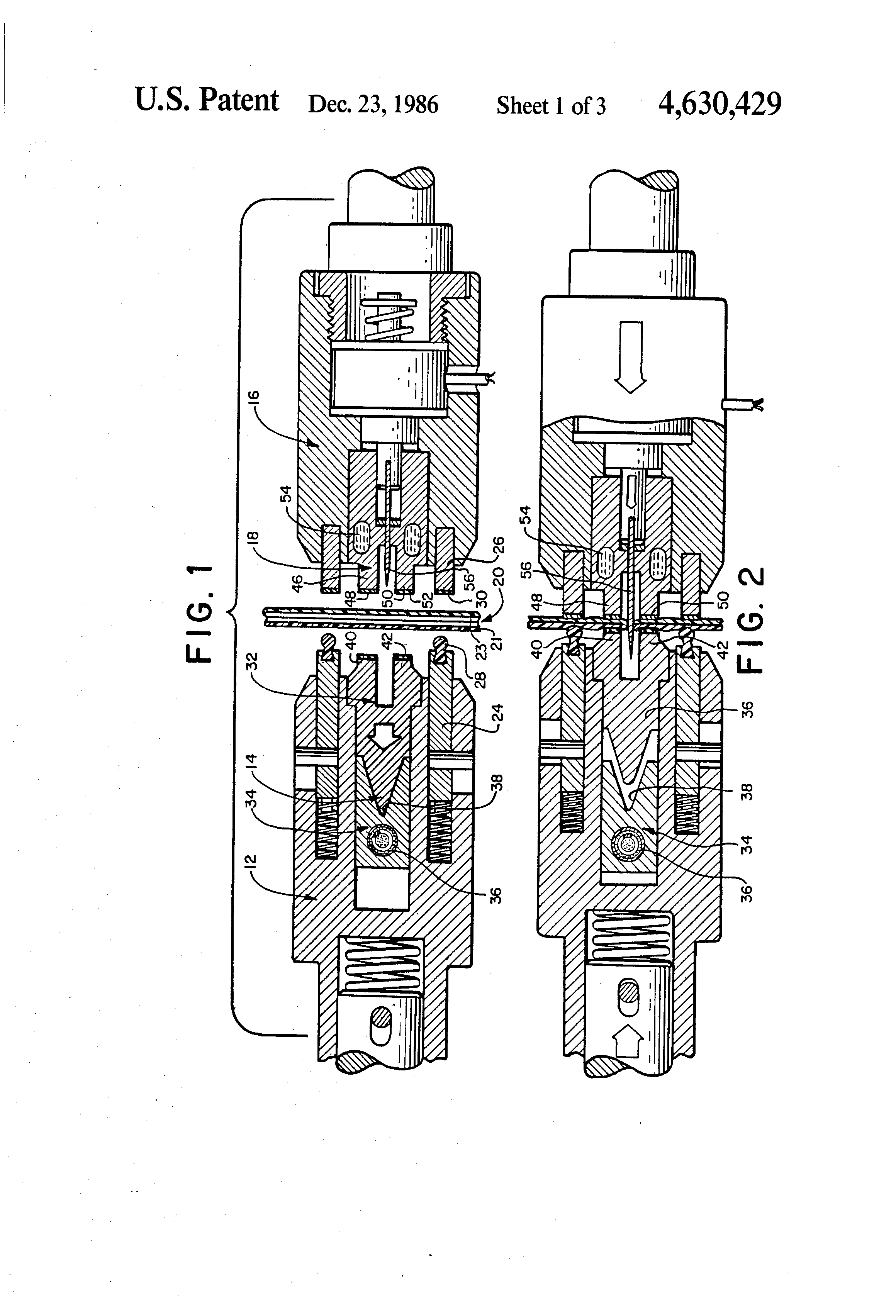Patent Us4630429 Apparatus And Method For Sealing A Web Of Film In Dometic Rm2652 Wiring Schematic Drawing