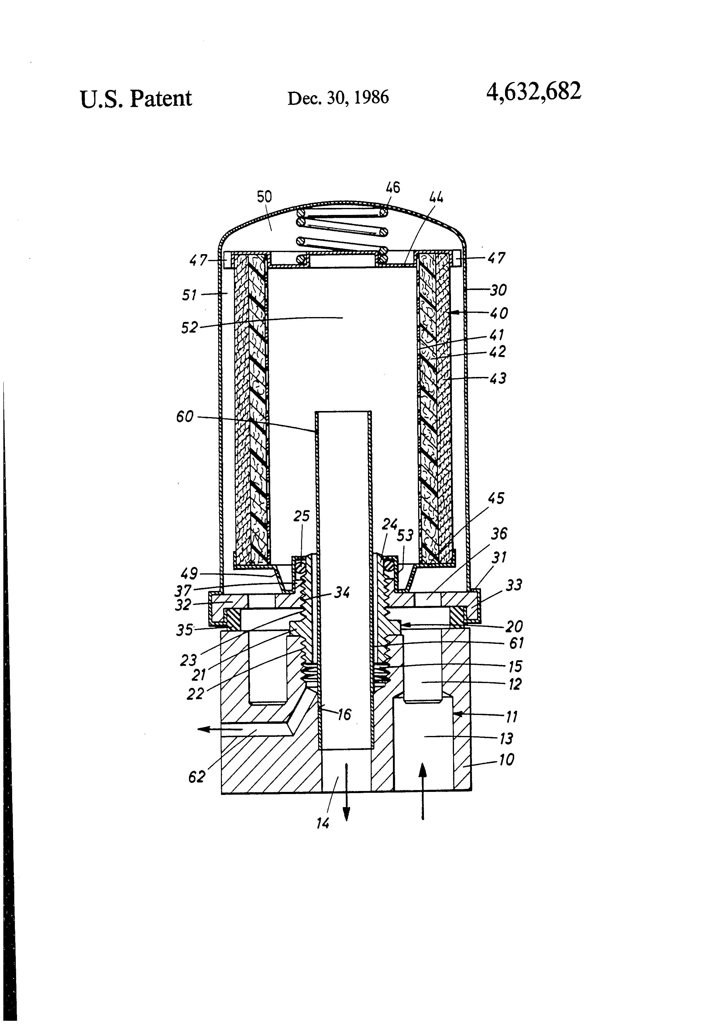 patent us4632682