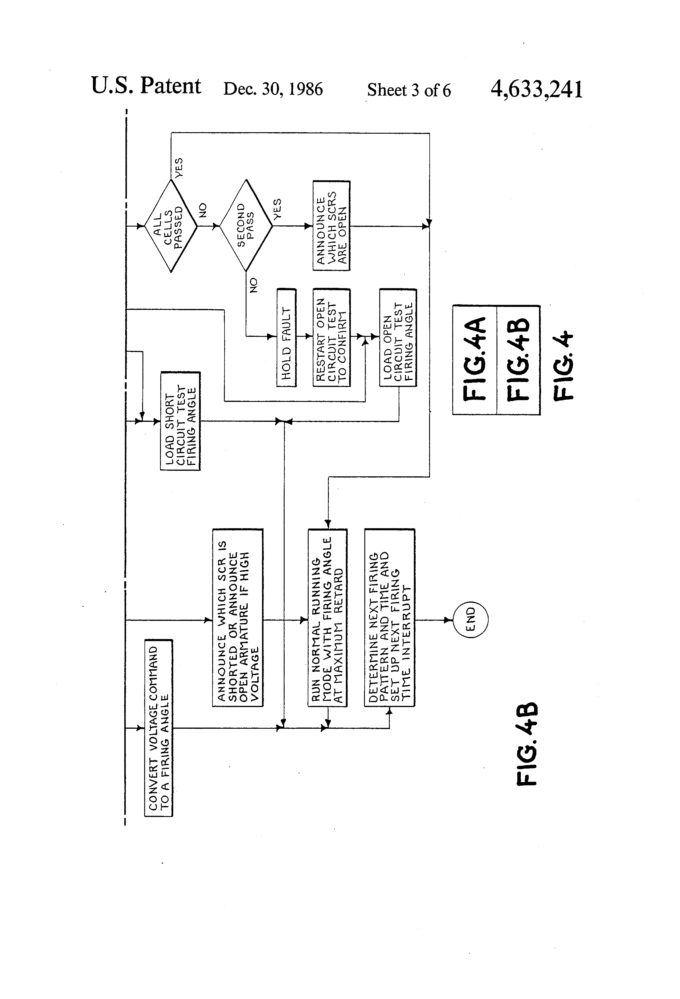 Patent Us4633241 Method Of Automated In Place Scr Testing Google Circuits Applications Drawing