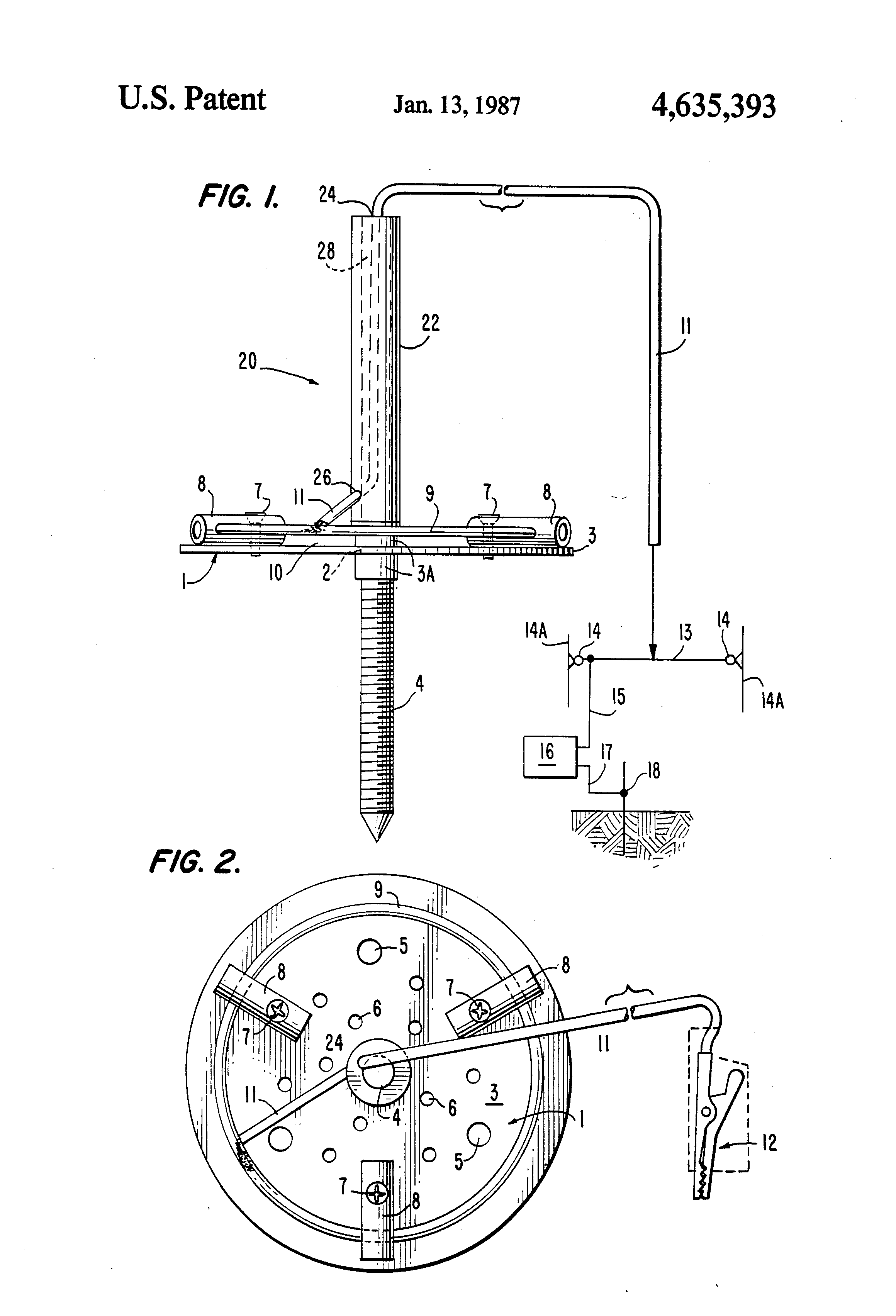 patent us4635393 - electric insect killer
